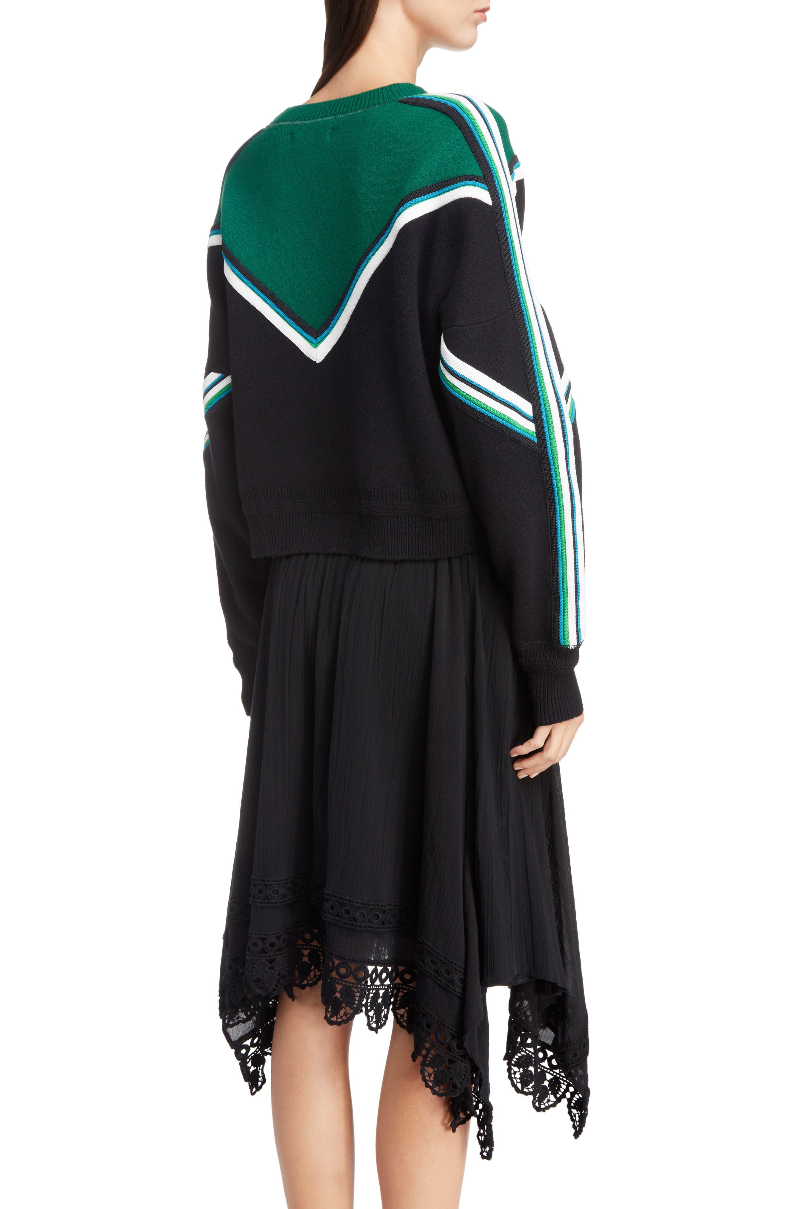 Kimo Stripe Detail Sweater,                             Alternate thumbnail 2, color,                             005