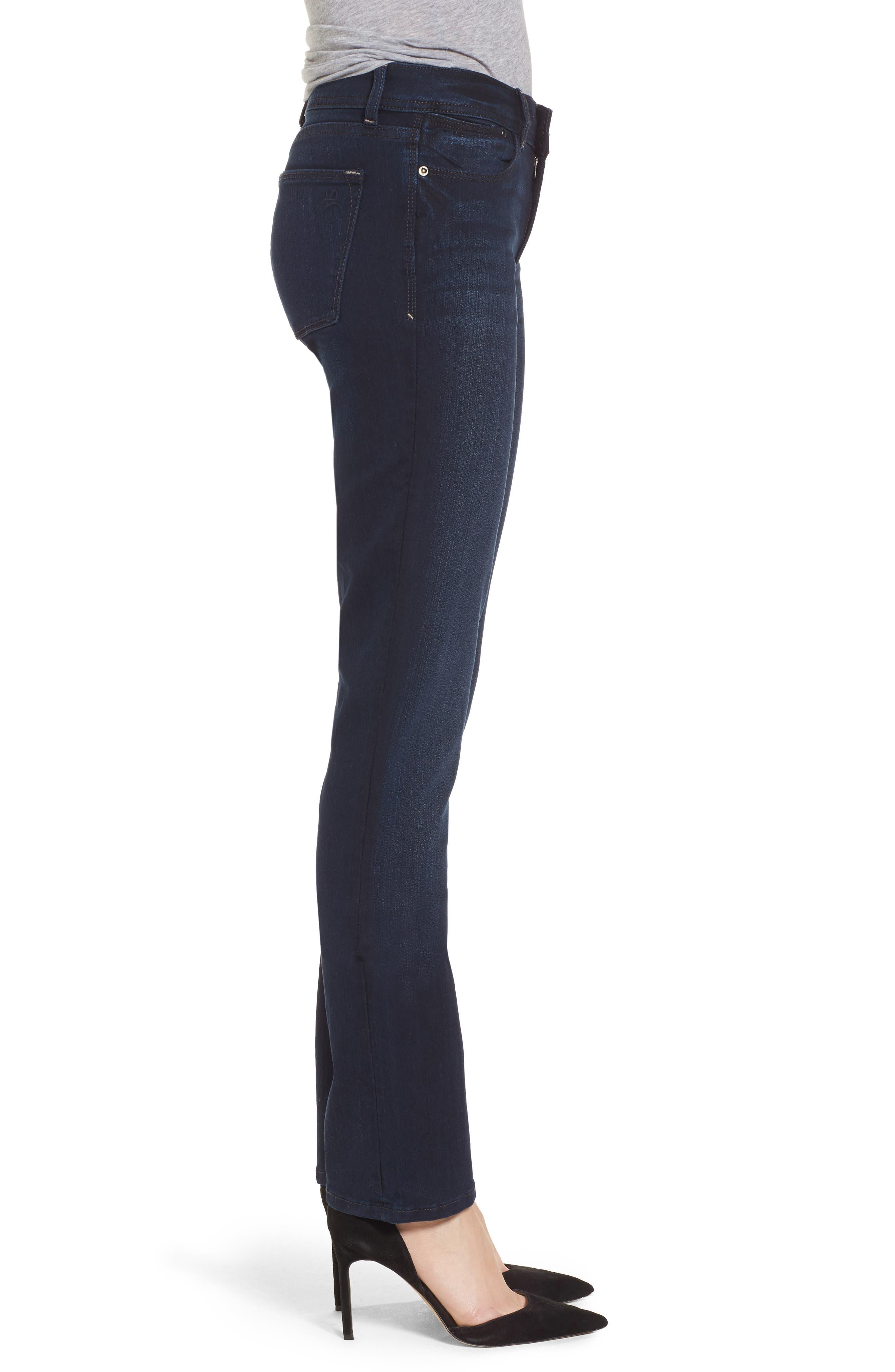 'Grace' Straight Jeans,                             Alternate thumbnail 3, color,                             405