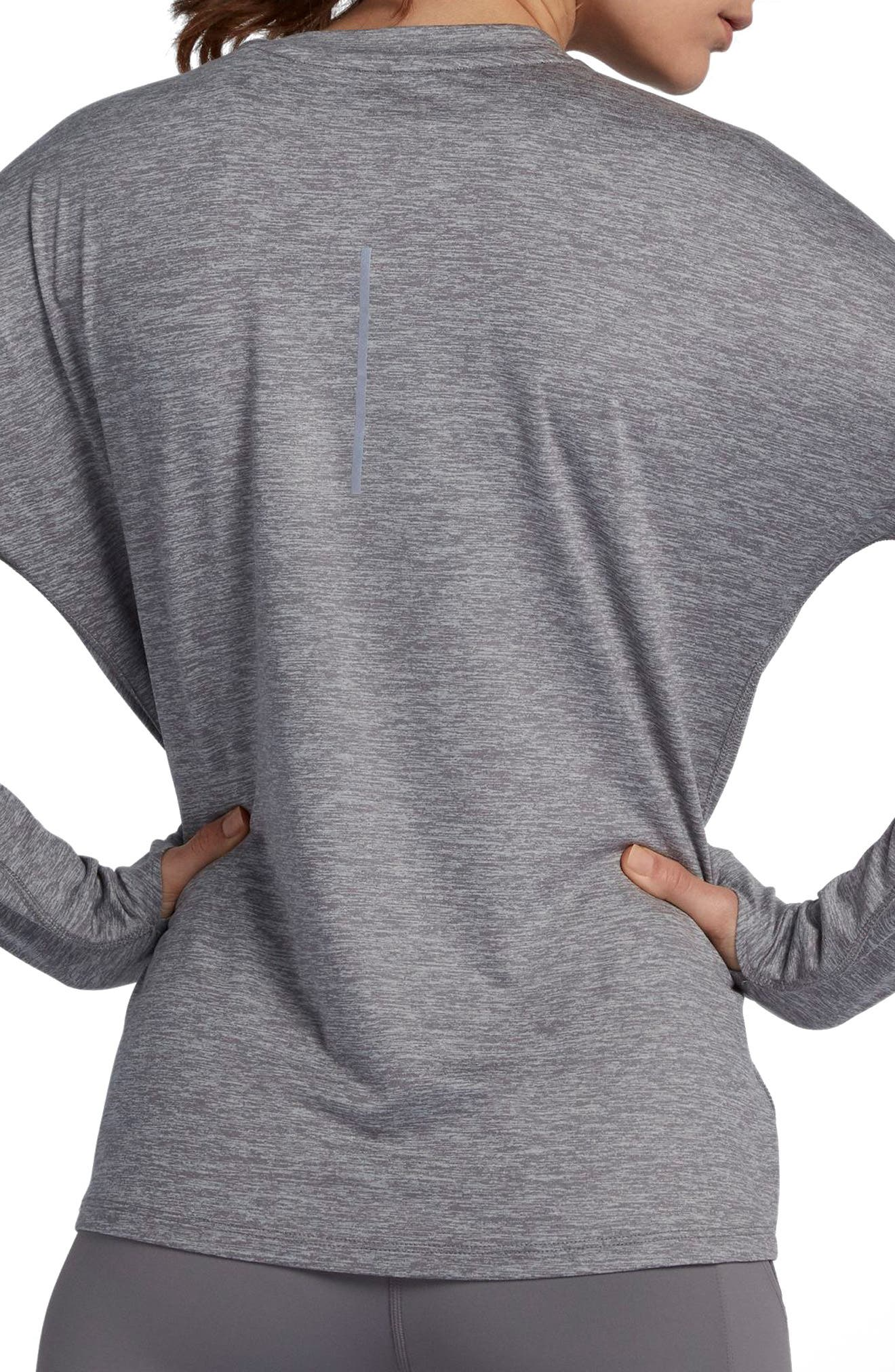 NIKE,                             Dry Element Long Sleeve Top,                             Alternate thumbnail 2, color,                             036