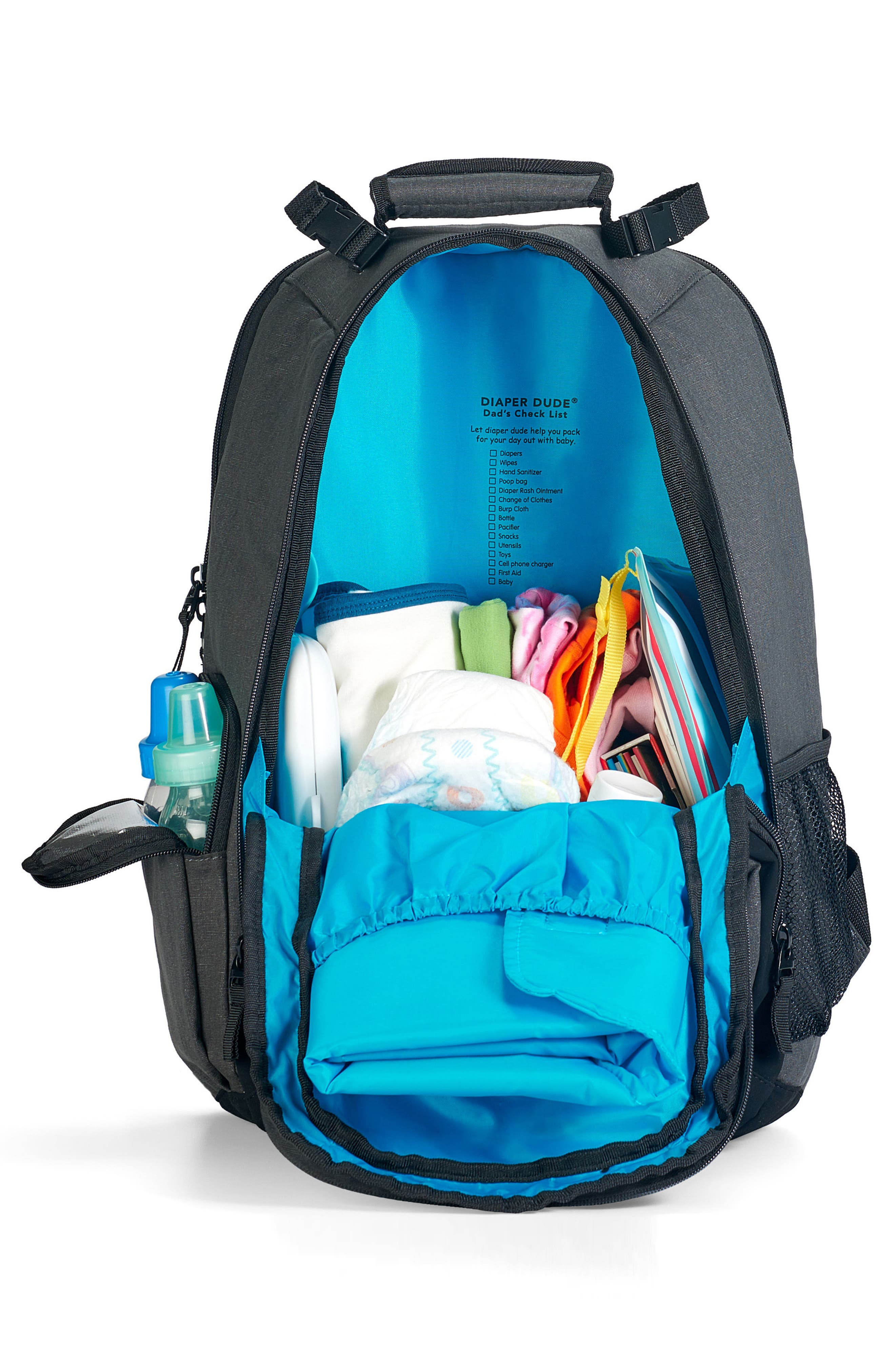 Canvas Diaper Backpack,                             Alternate thumbnail 2, color,                             020