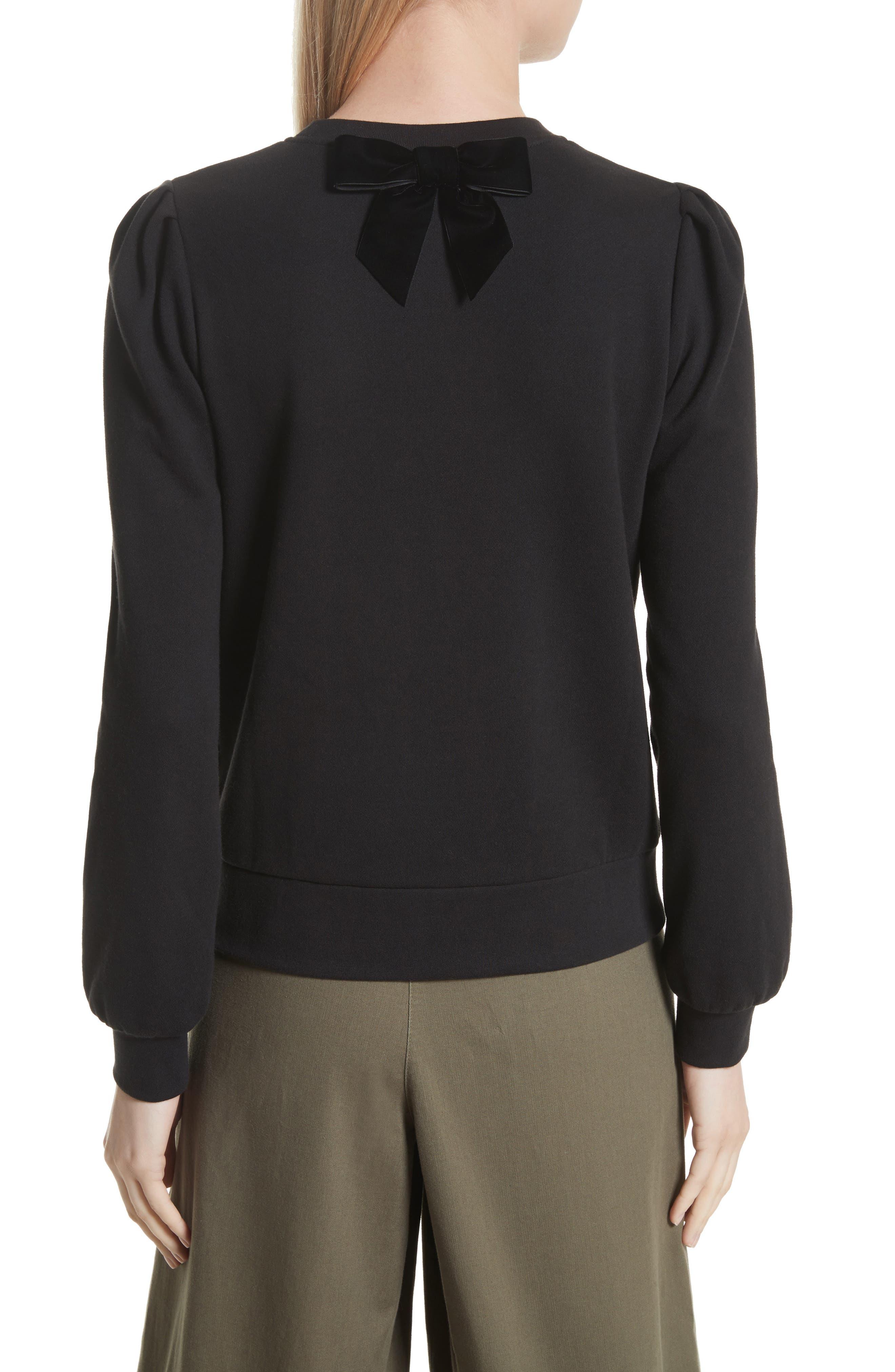patch sweatshirt,                             Alternate thumbnail 2, color,                             001