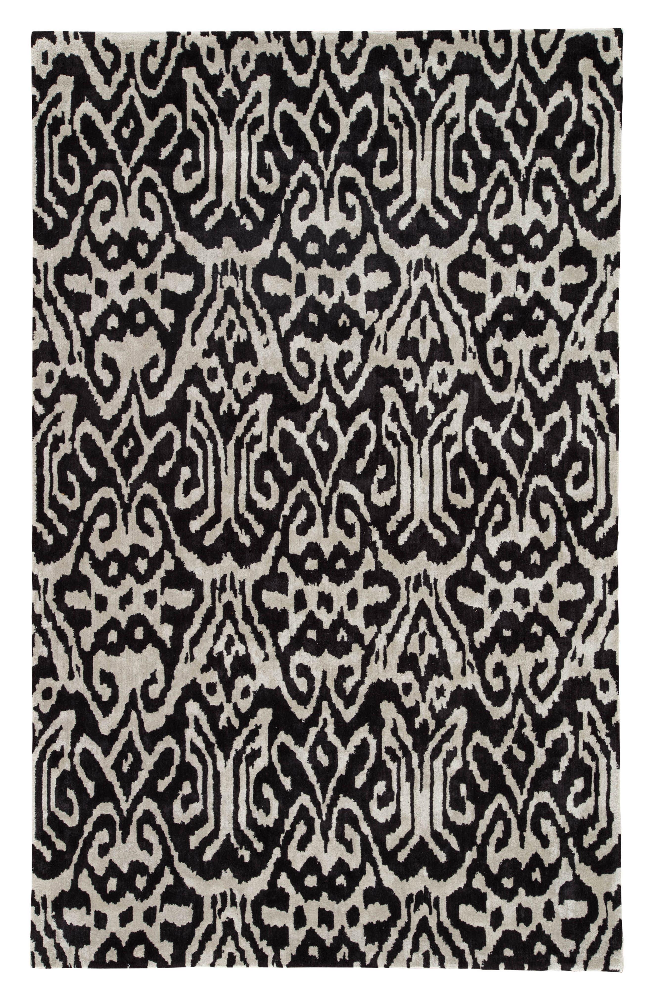 greenpoint caviar rug,                             Main thumbnail 1, color,                             001