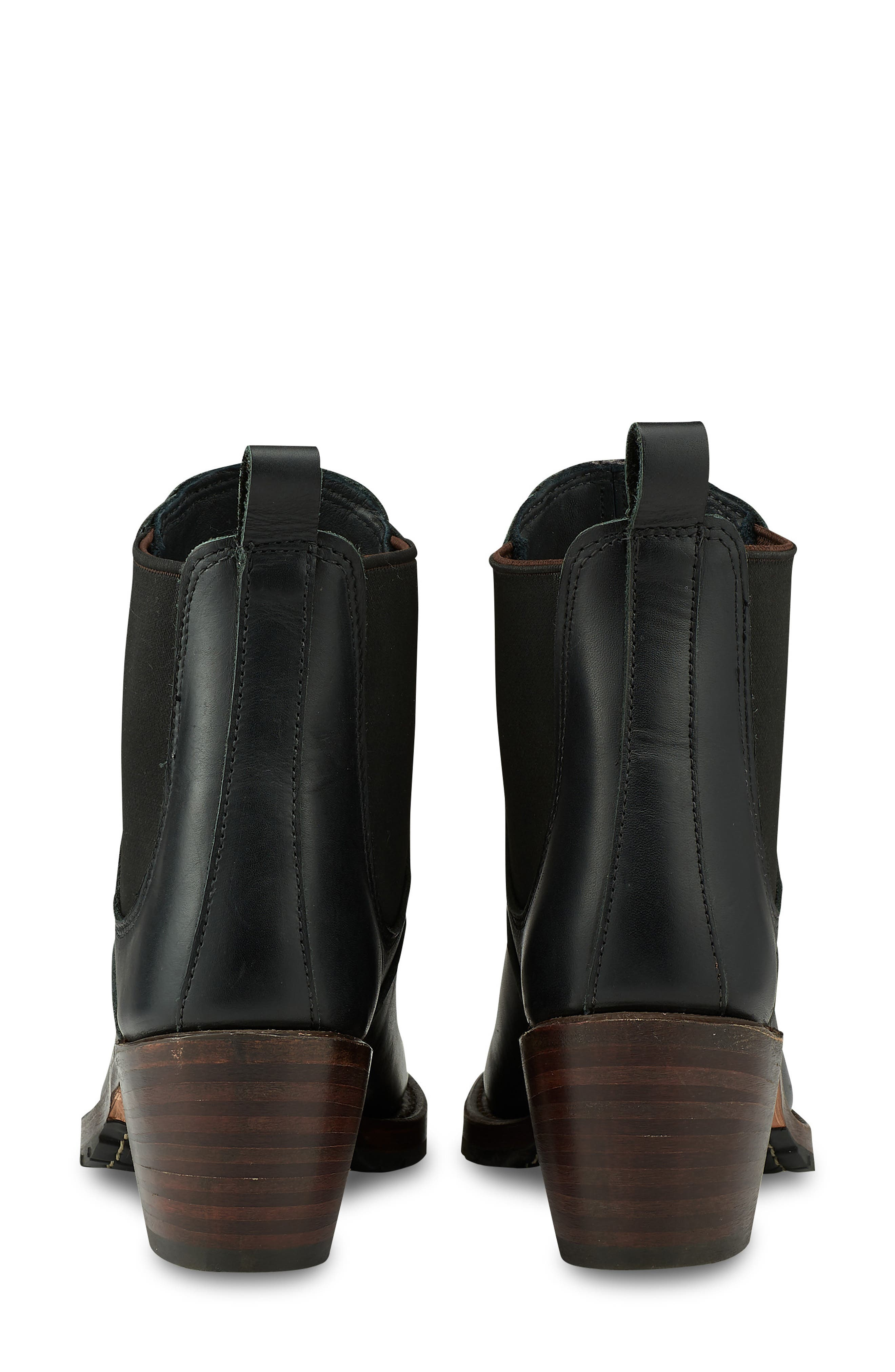 RED WING,                             Harriet Boot,                             Alternate thumbnail 4, color,                             BLACK BOUNDARY LEATHER