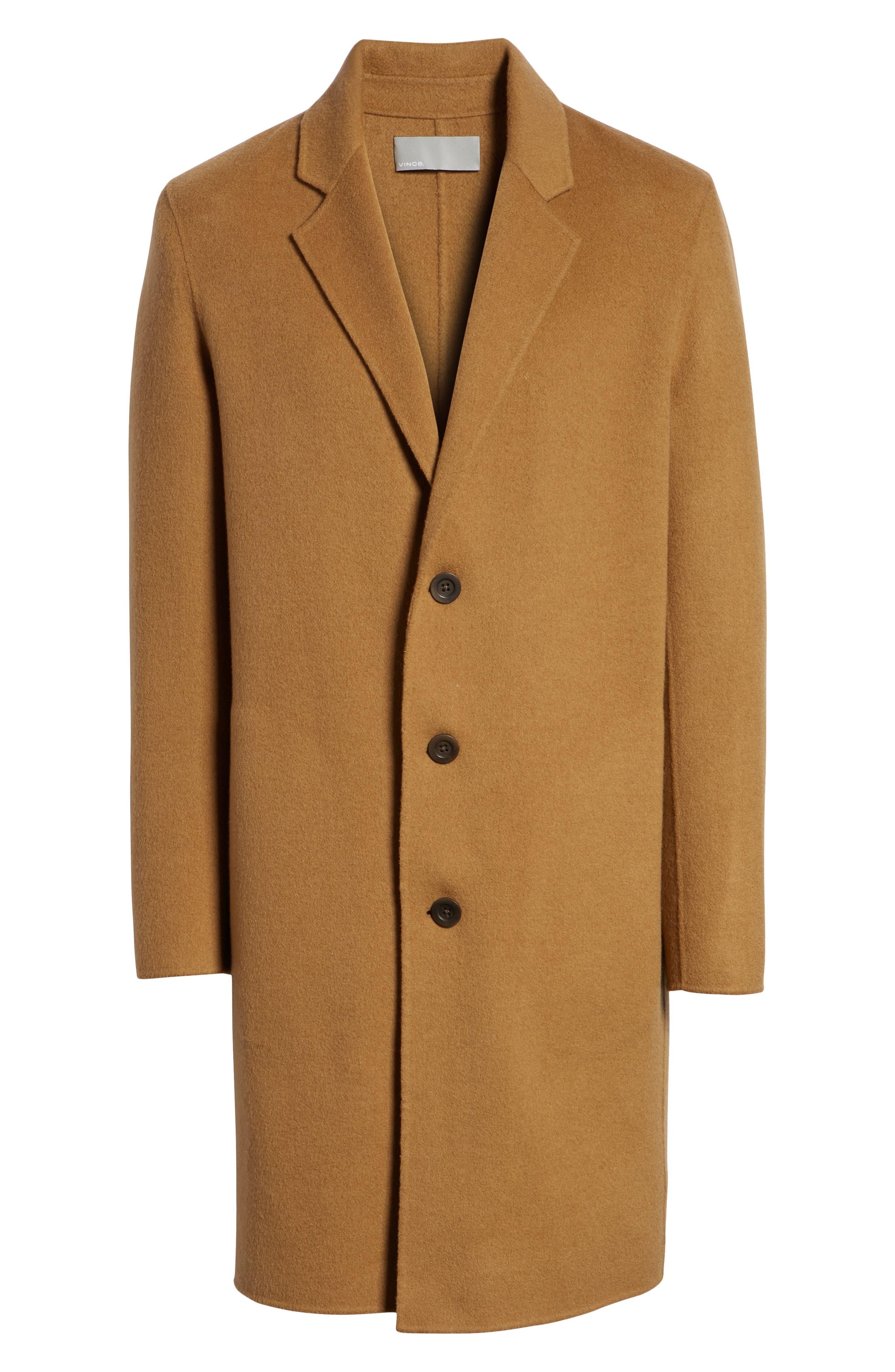 Wool Blend Car Coat,                             Alternate thumbnail 5, color,                             263