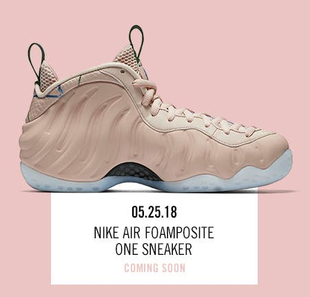 Nordstrom x Nike: new and hot Nike Air Foamposite One Sneaker.