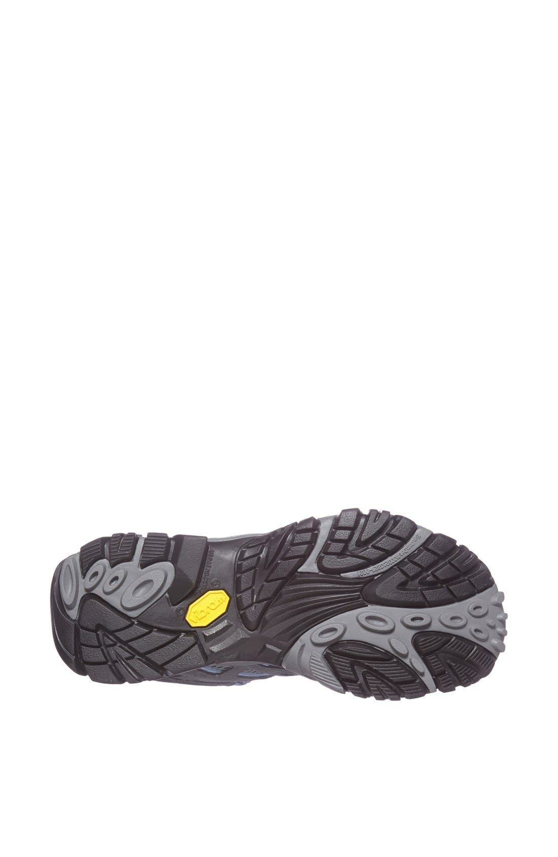 'Moab - Mid' Waterproof Hiking Boot,                             Alternate thumbnail 3, color,                             020