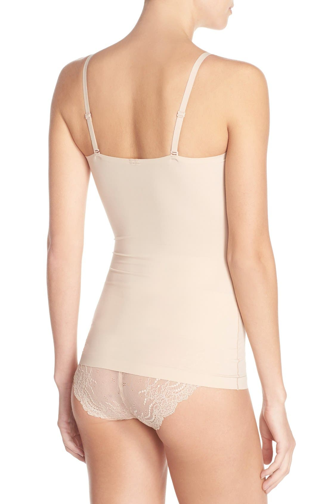 Thinstincts Convertible Camisole,                             Alternate thumbnail 6, color,                             SOFT NUDE