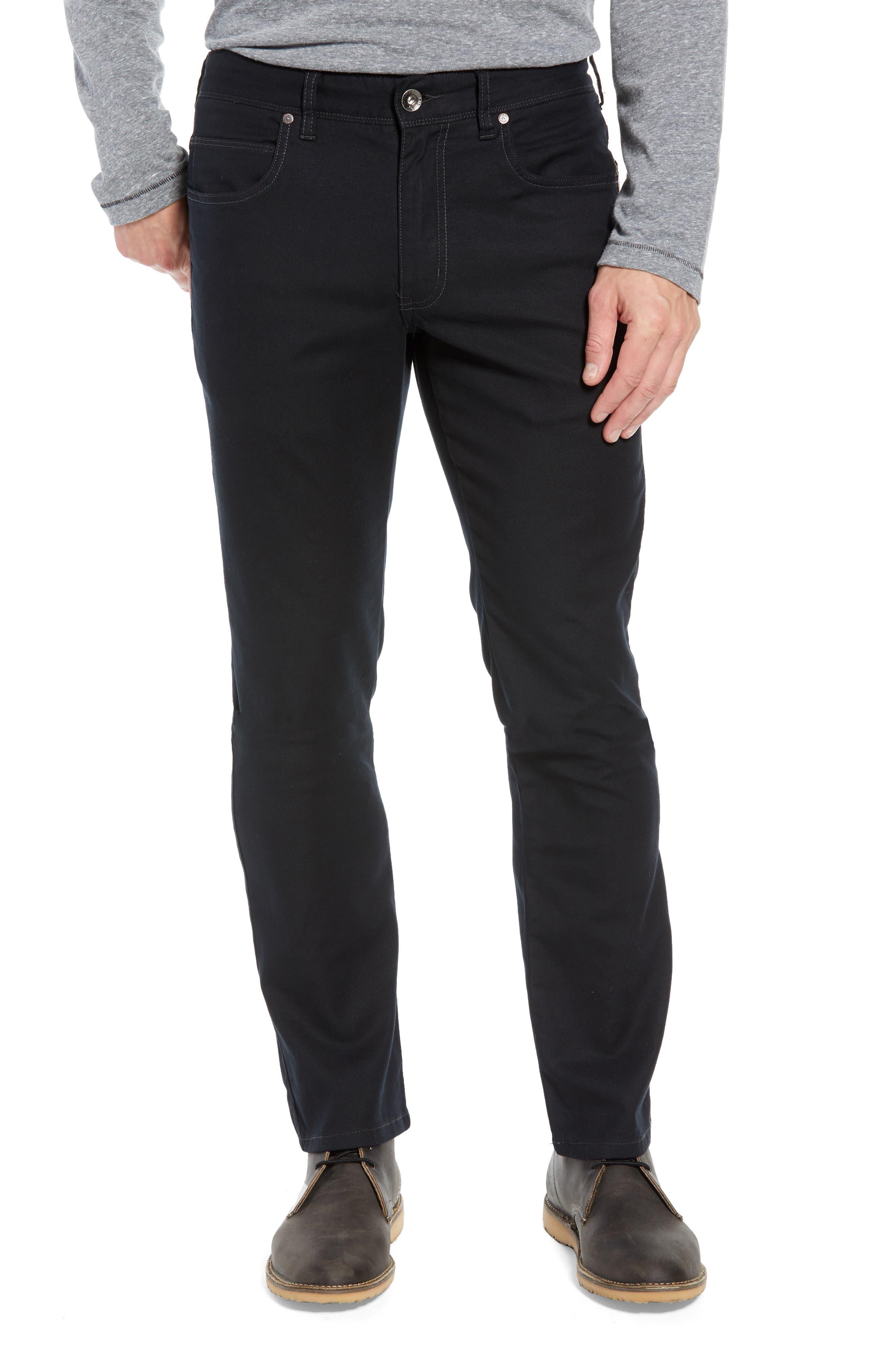 Key Isles Regular Fit Pants,                             Main thumbnail 1, color,                             BLACK