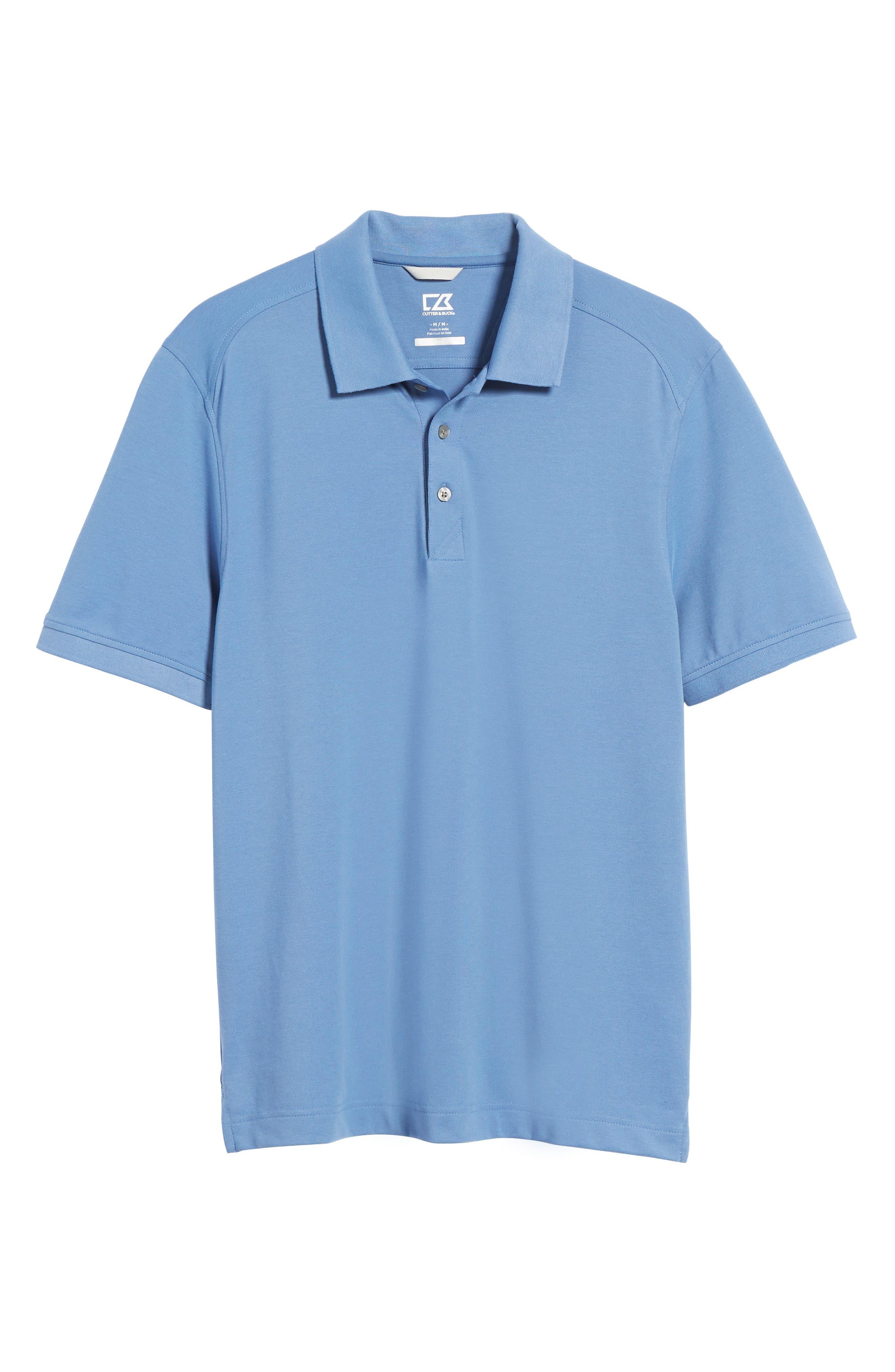 Advantage Golf Polo,                             Alternate thumbnail 6, color,                             SEA BLUE