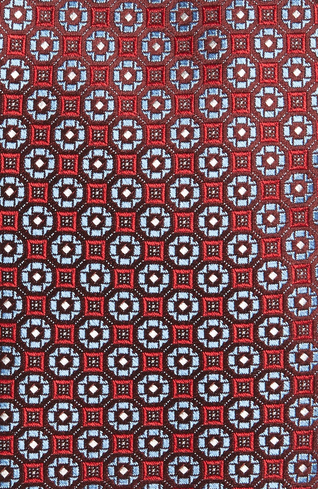 'Lange' Medallion Silk Tie,                             Alternate thumbnail 4, color,