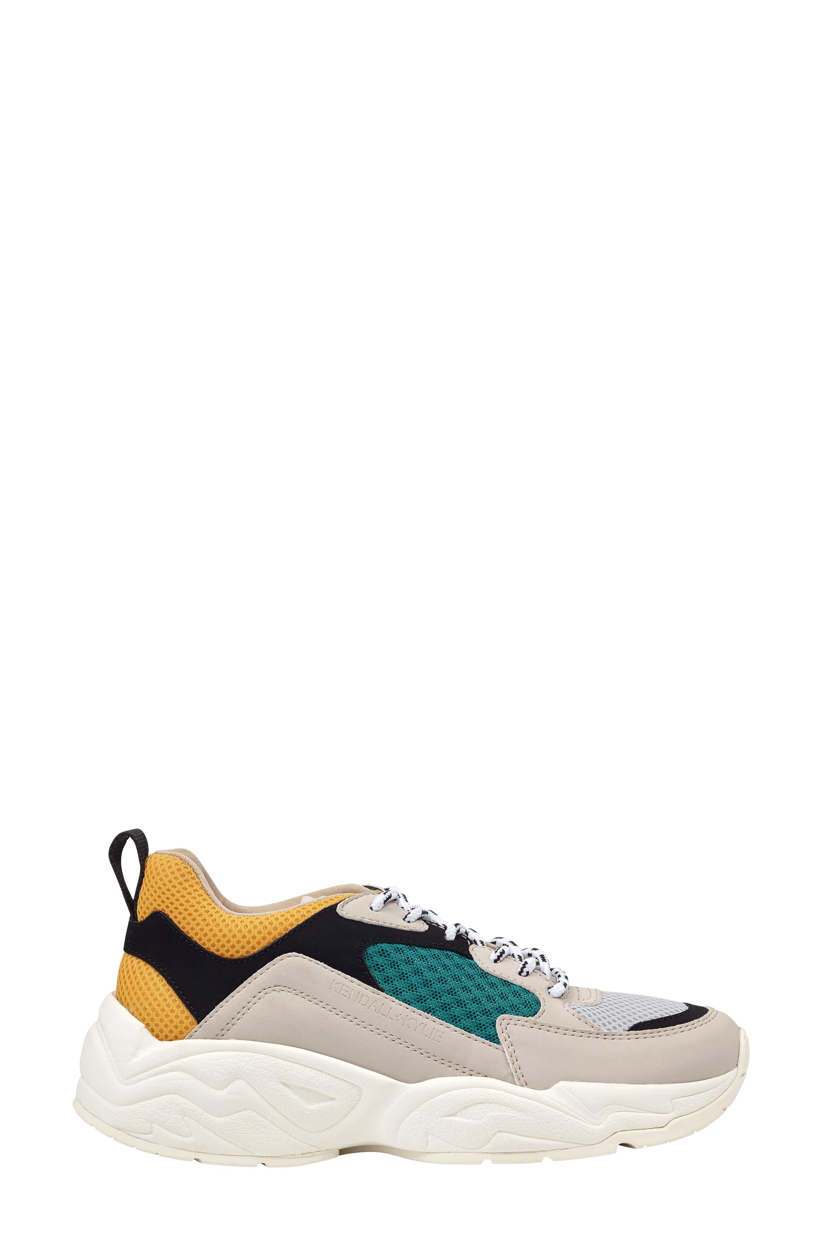 KENDALL + KYLIE,                             Dad Sneaker,                             Alternate thumbnail 3, color,                             250