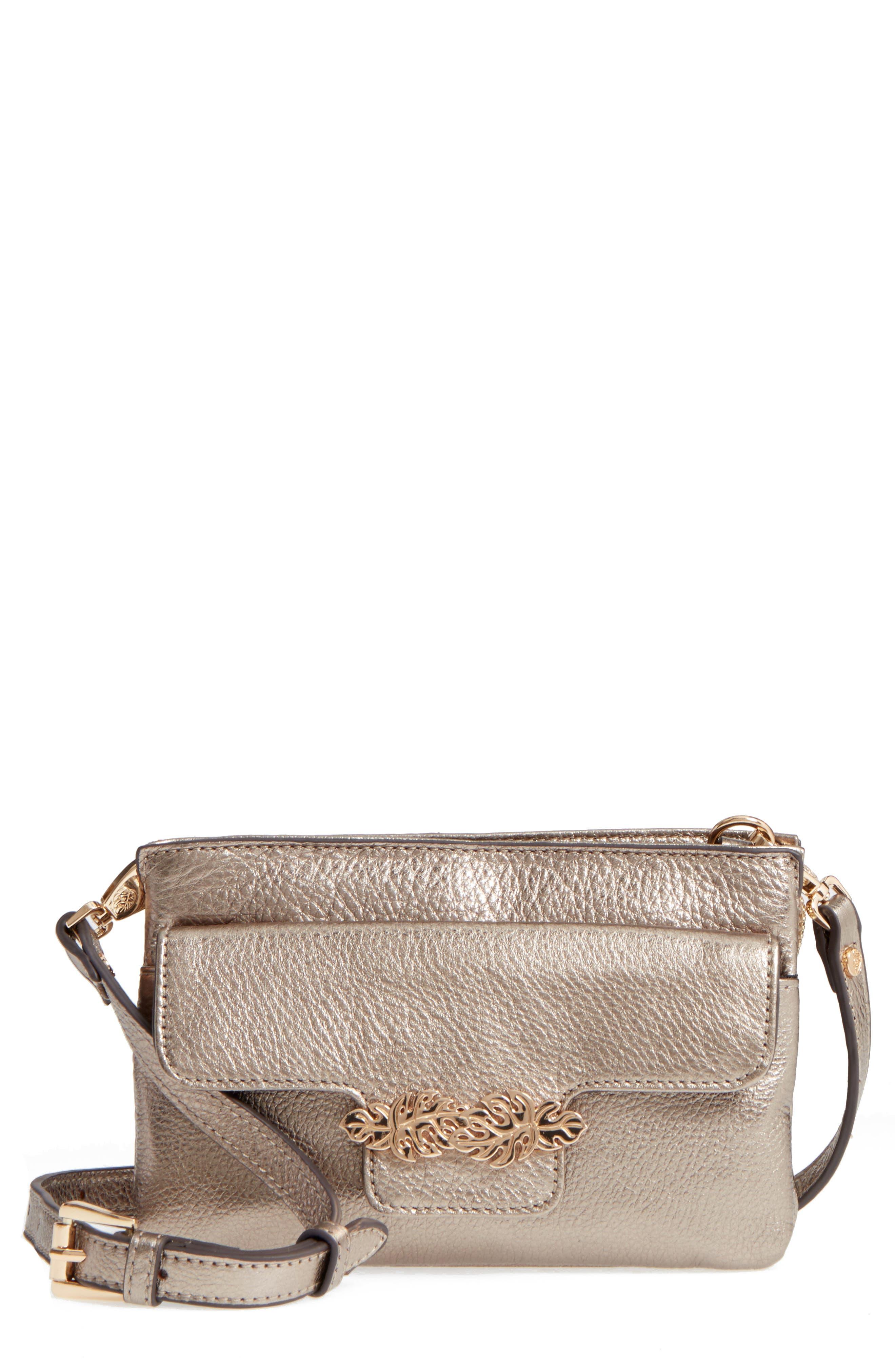 Katerini Leather Crossbody Wallet,                             Main thumbnail 5, color,