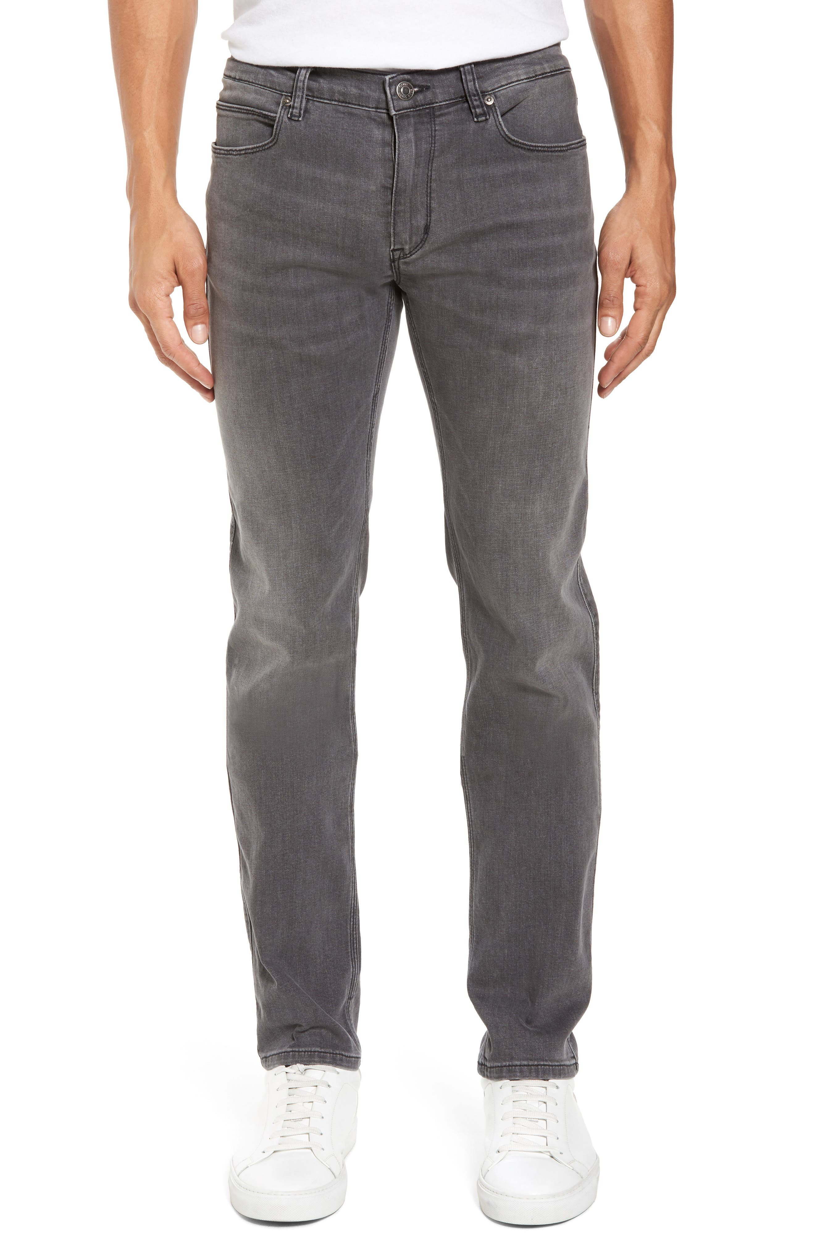 Hugo Boss 708 Stonewash Denim Jeans,                         Main,                         color, 021