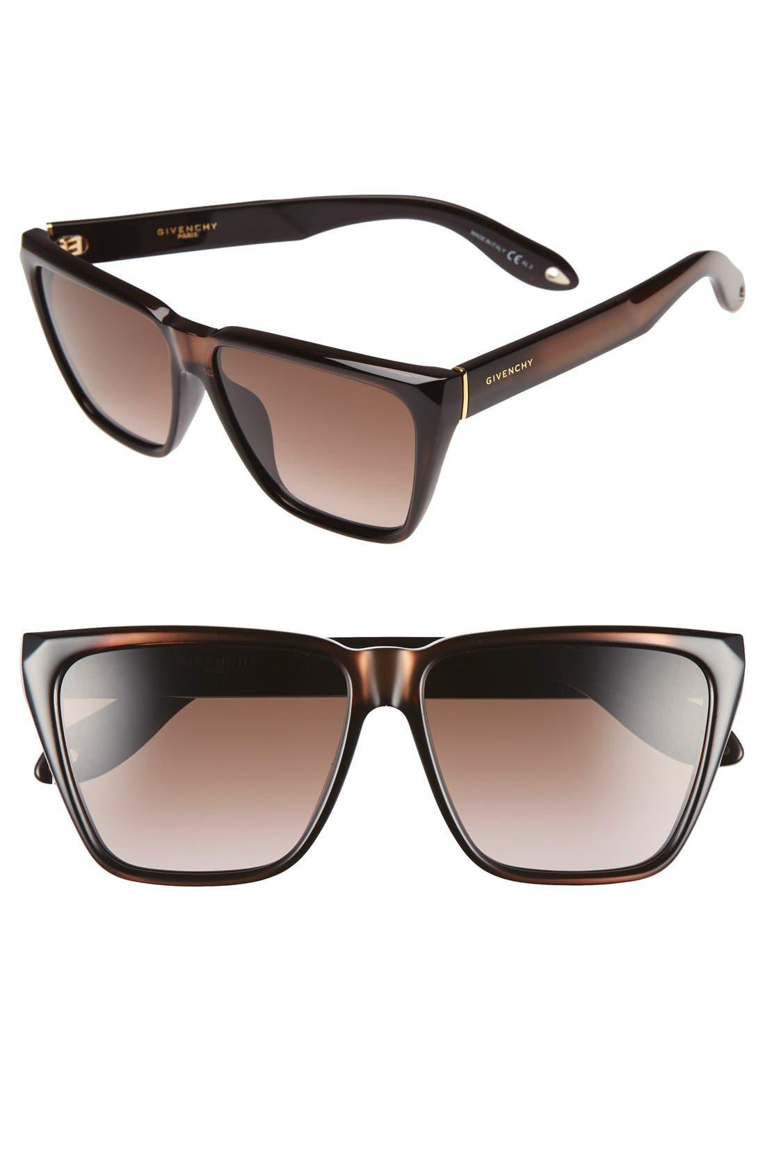 '7002/S' 58mm Sunglasses,                             Main thumbnail 1, color,