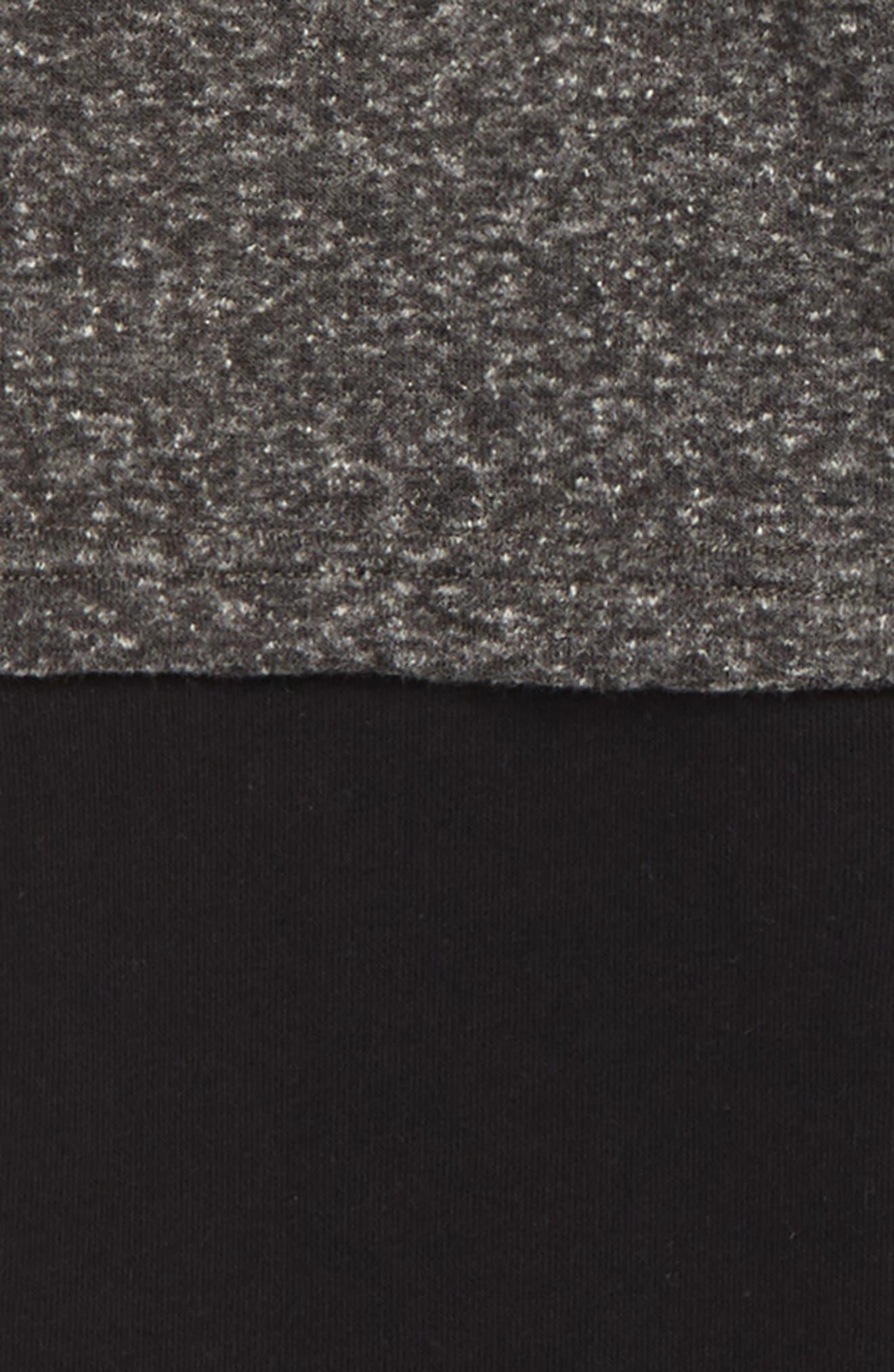 Double Sweatpants,                             Alternate thumbnail 2, color,                             BLACK/ CHARCOAL