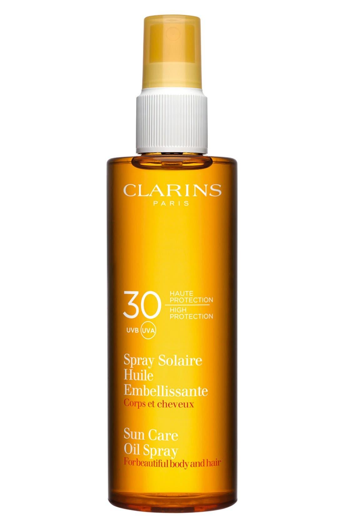 Sunscreen Care Oil Spray SPF 30 for Skin & Hair,                         Main,                         color, NO COLOR