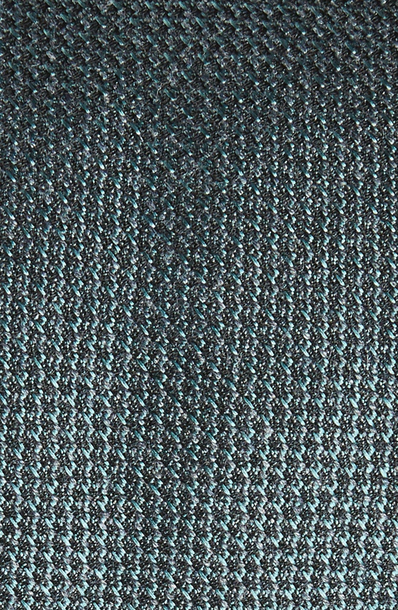 Kenton Textured Silk Blend Skinny Tie,                             Alternate thumbnail 7, color,