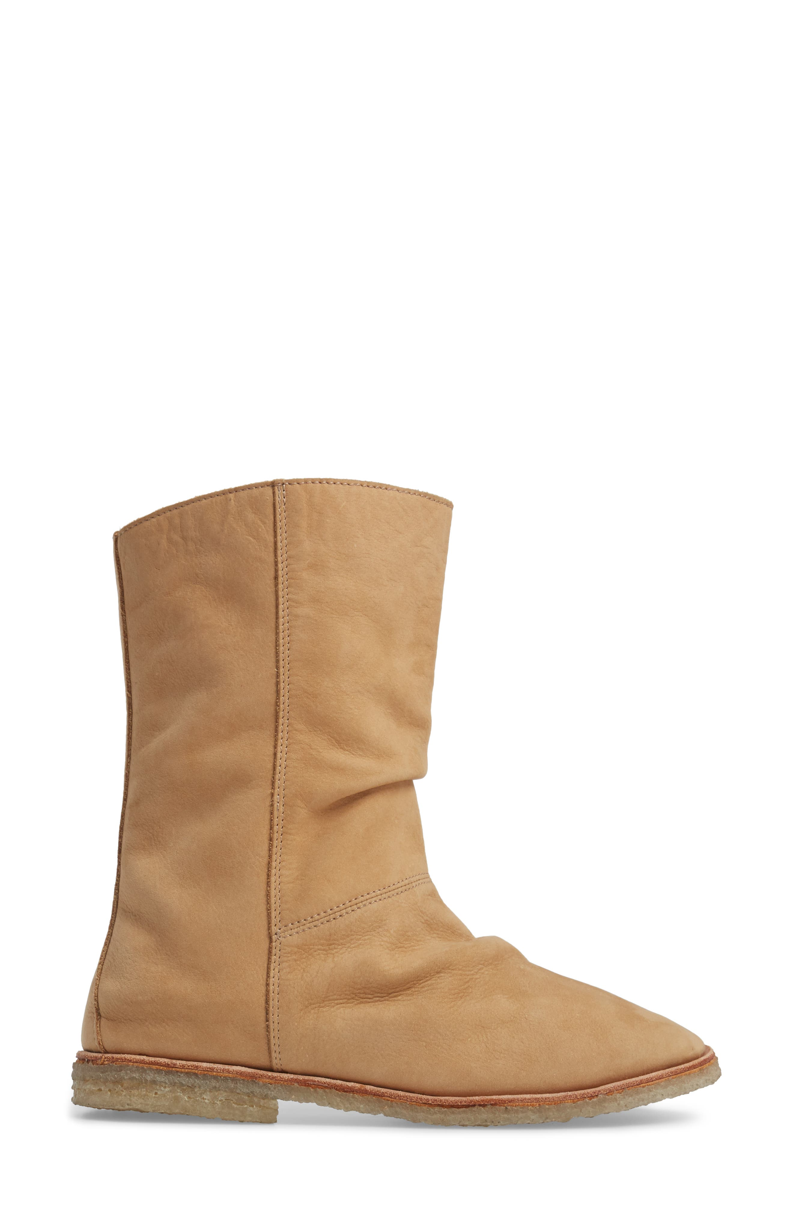 Owl Slouchy Bootie,                             Alternate thumbnail 9, color,