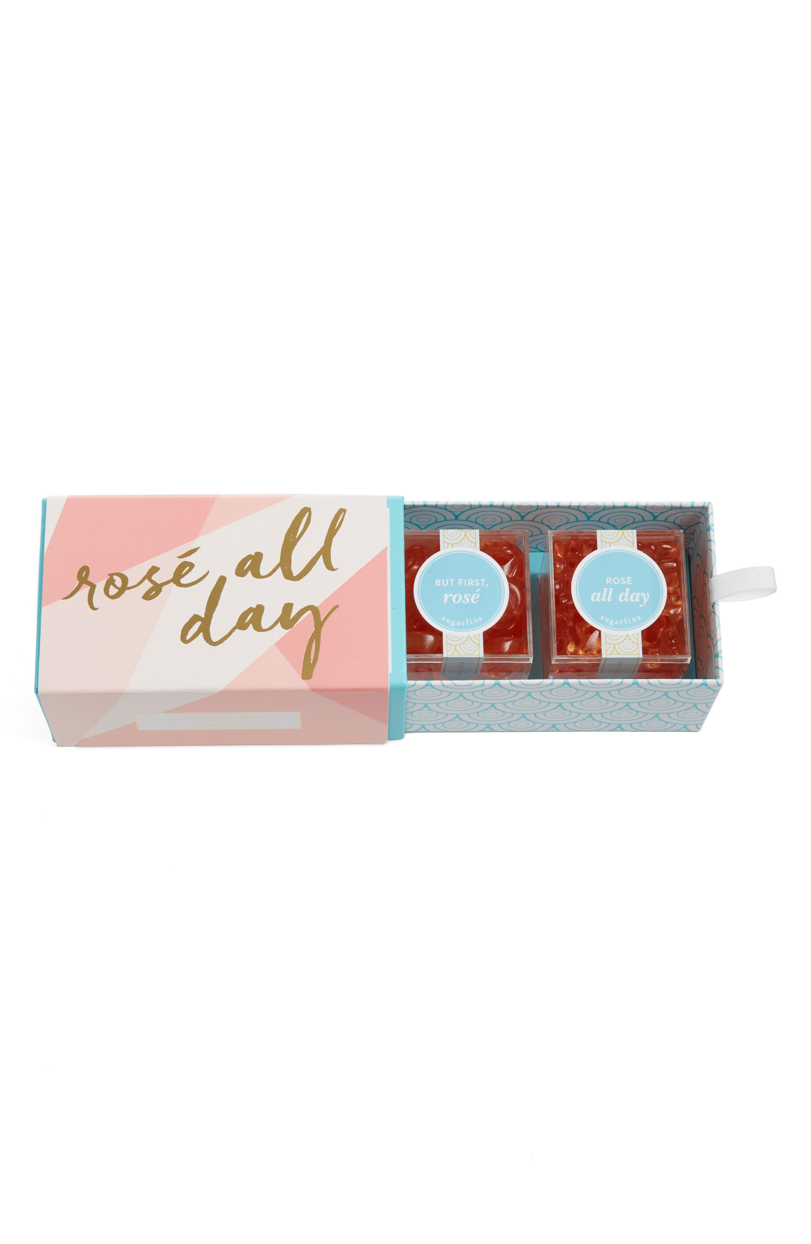 'Rosé All Day' Large Candy Gift Set,                             Alternate thumbnail 2, color,                             ROSE