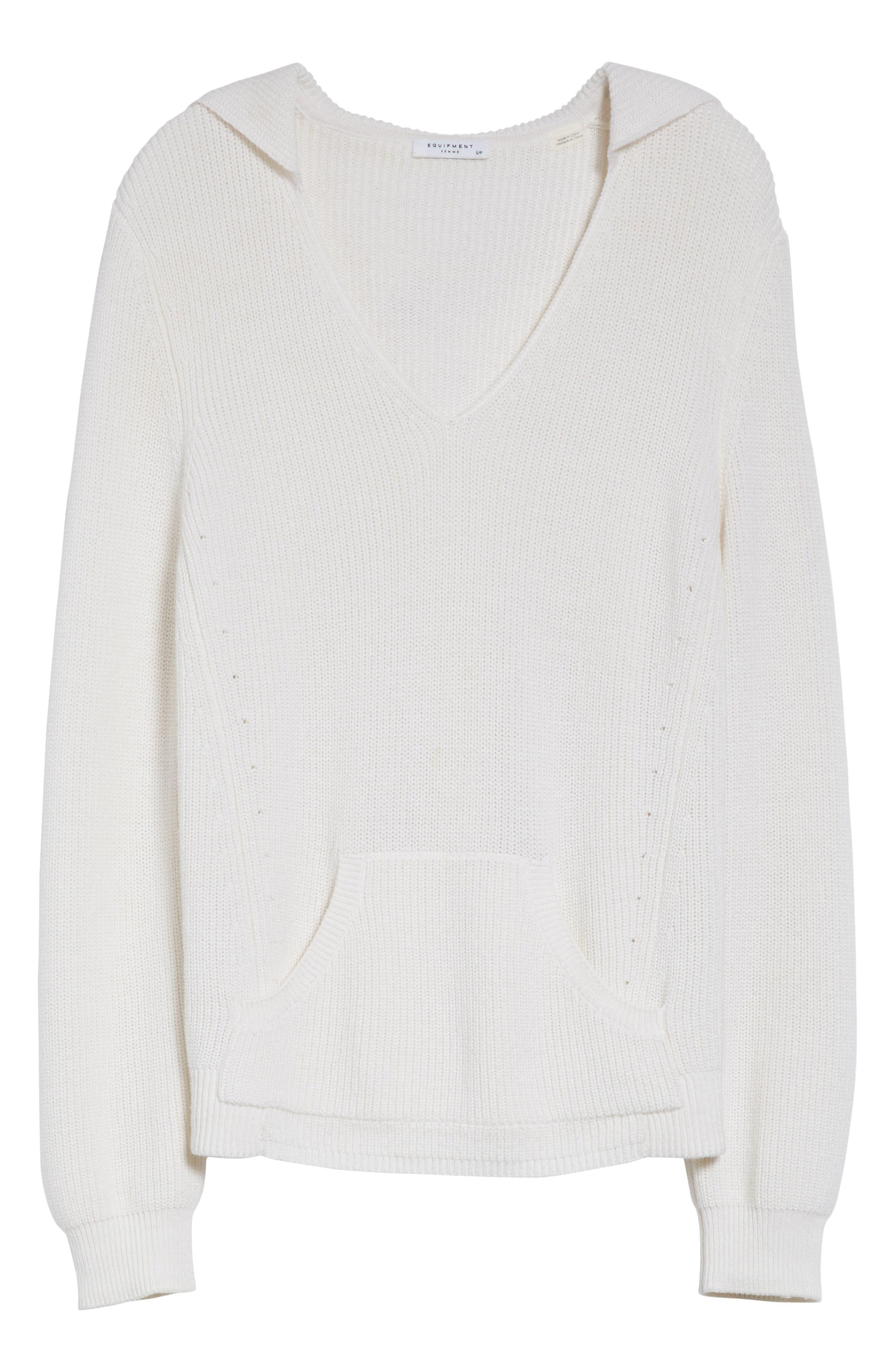 Octavia Hooded Sweater,                             Alternate thumbnail 6, color,
