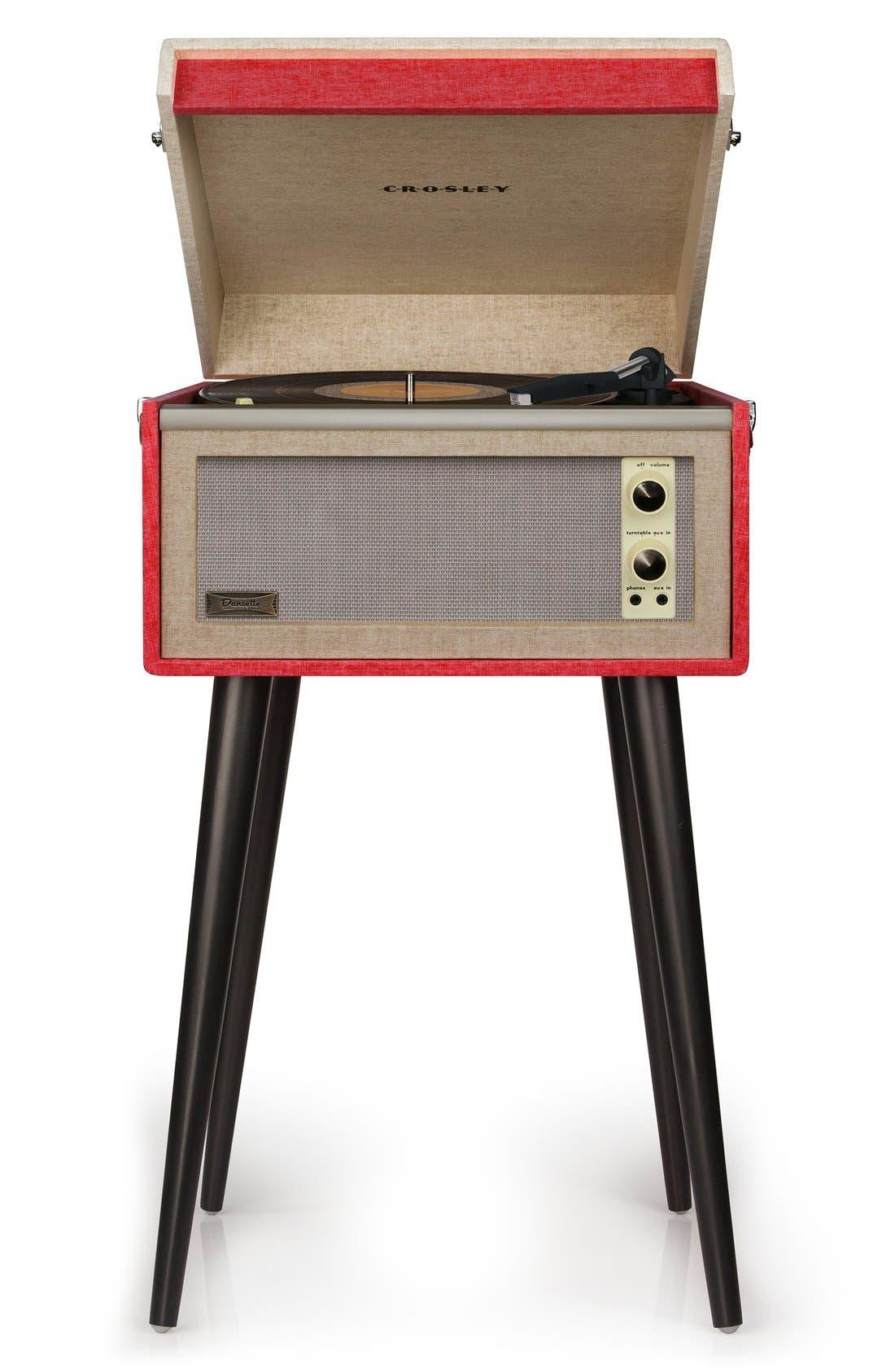 CROSLEY RADIO,                             'Bermuda' Turntable,                             Alternate thumbnail 3, color,                             600