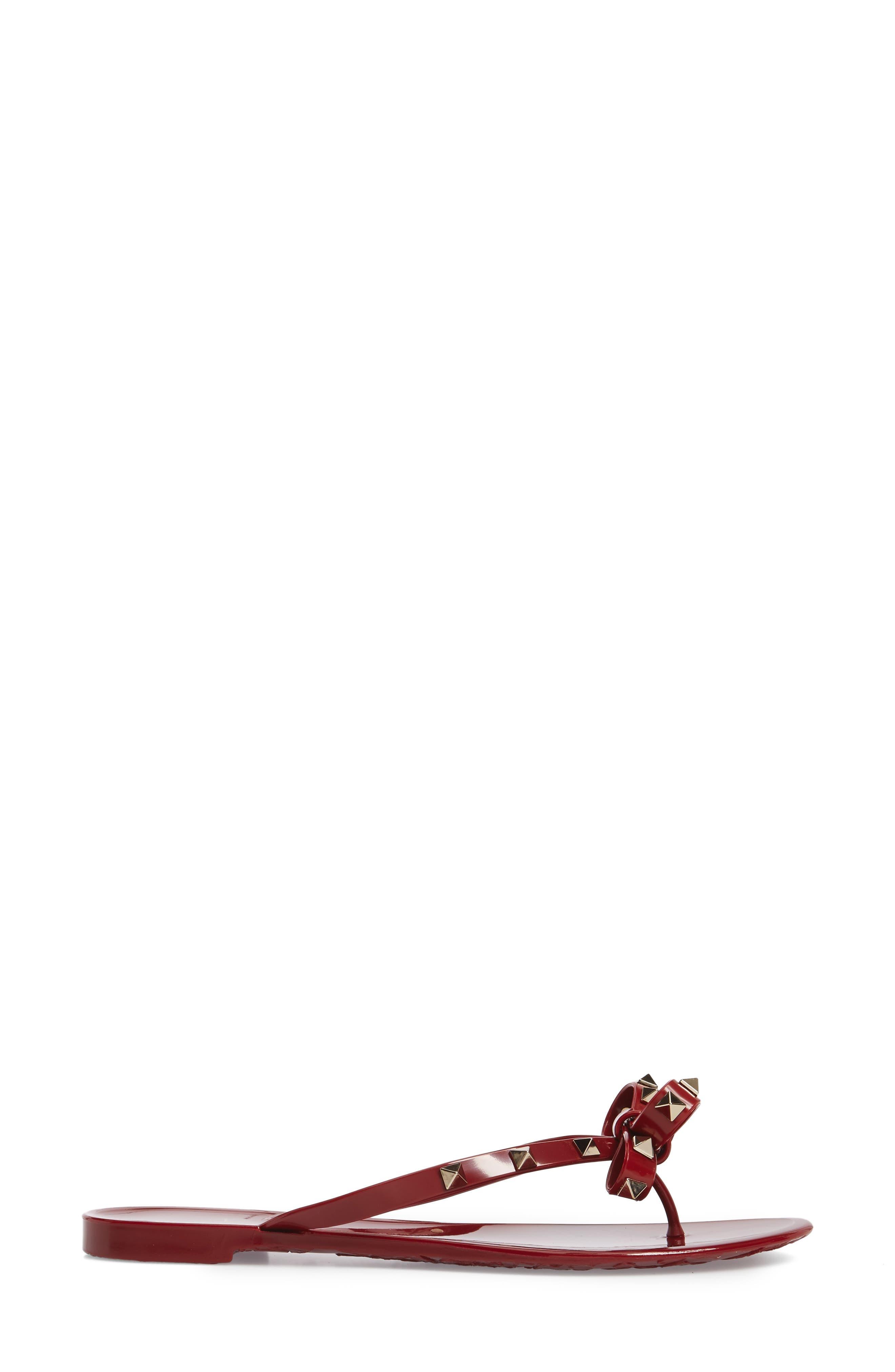 'Rockstud' Flip Flop,                             Alternate thumbnail 63, color,