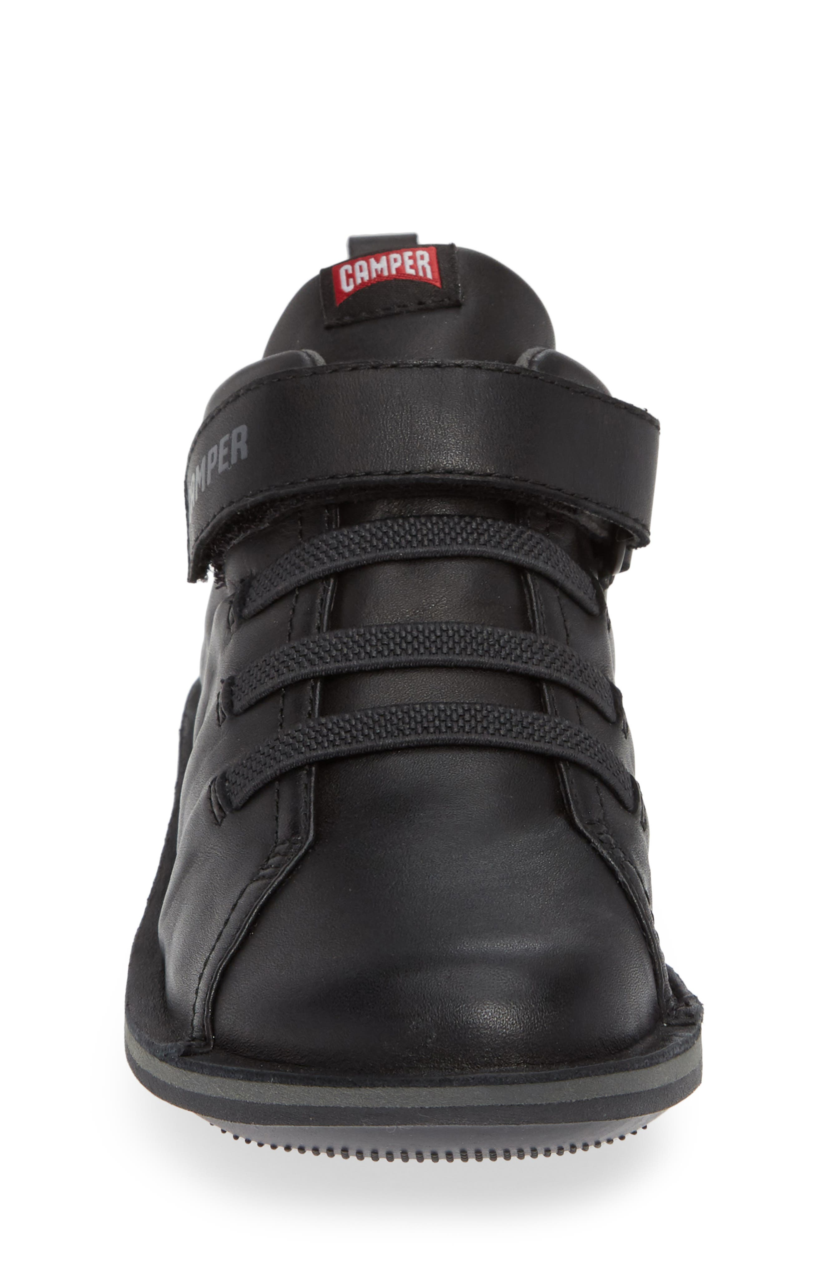 Beetle Water Resistant Sneaker,                             Alternate thumbnail 4, color,                             BLACK