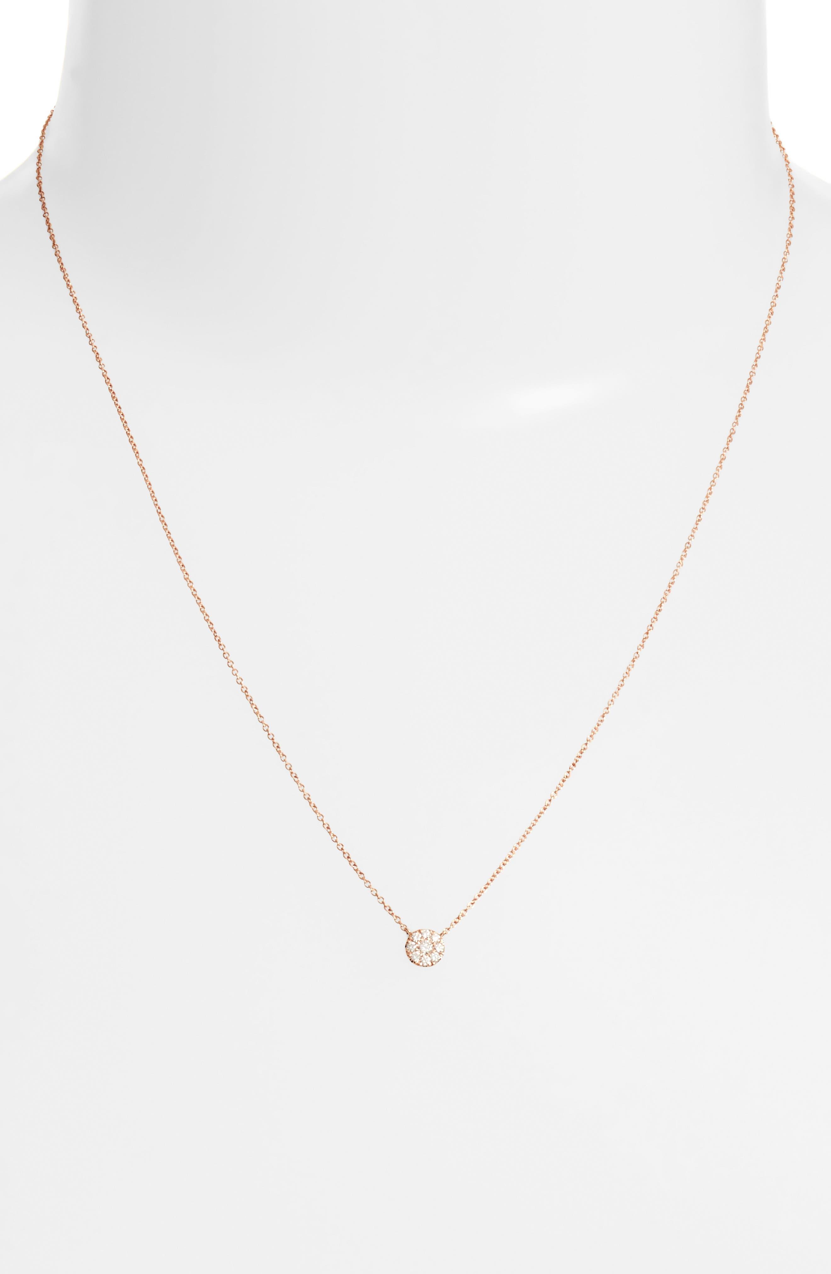 Ella Diamond Pendant Necklace,                             Alternate thumbnail 6, color,