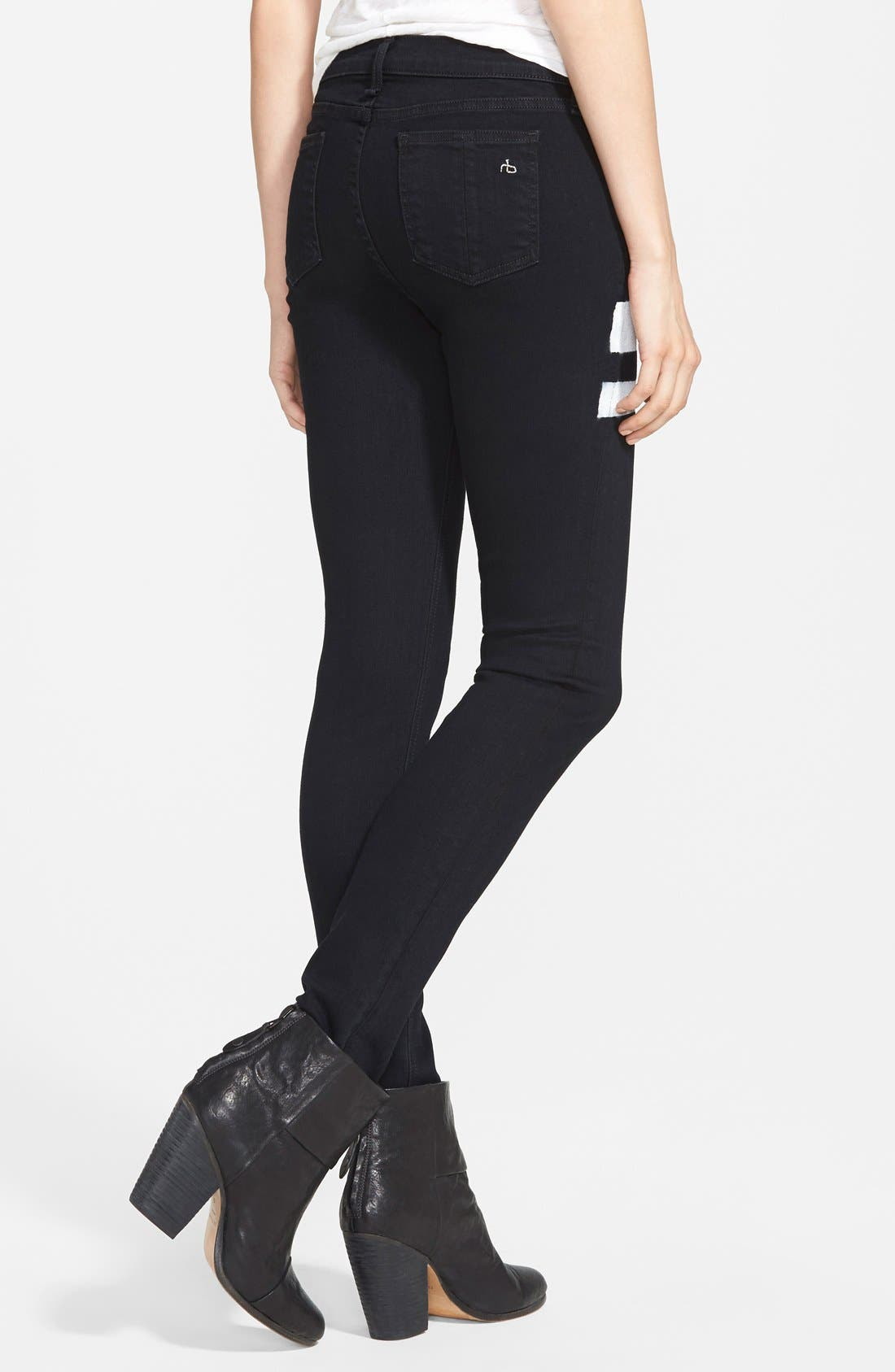 'The Skinny' Stretch Jeans,                             Alternate thumbnail 37, color,