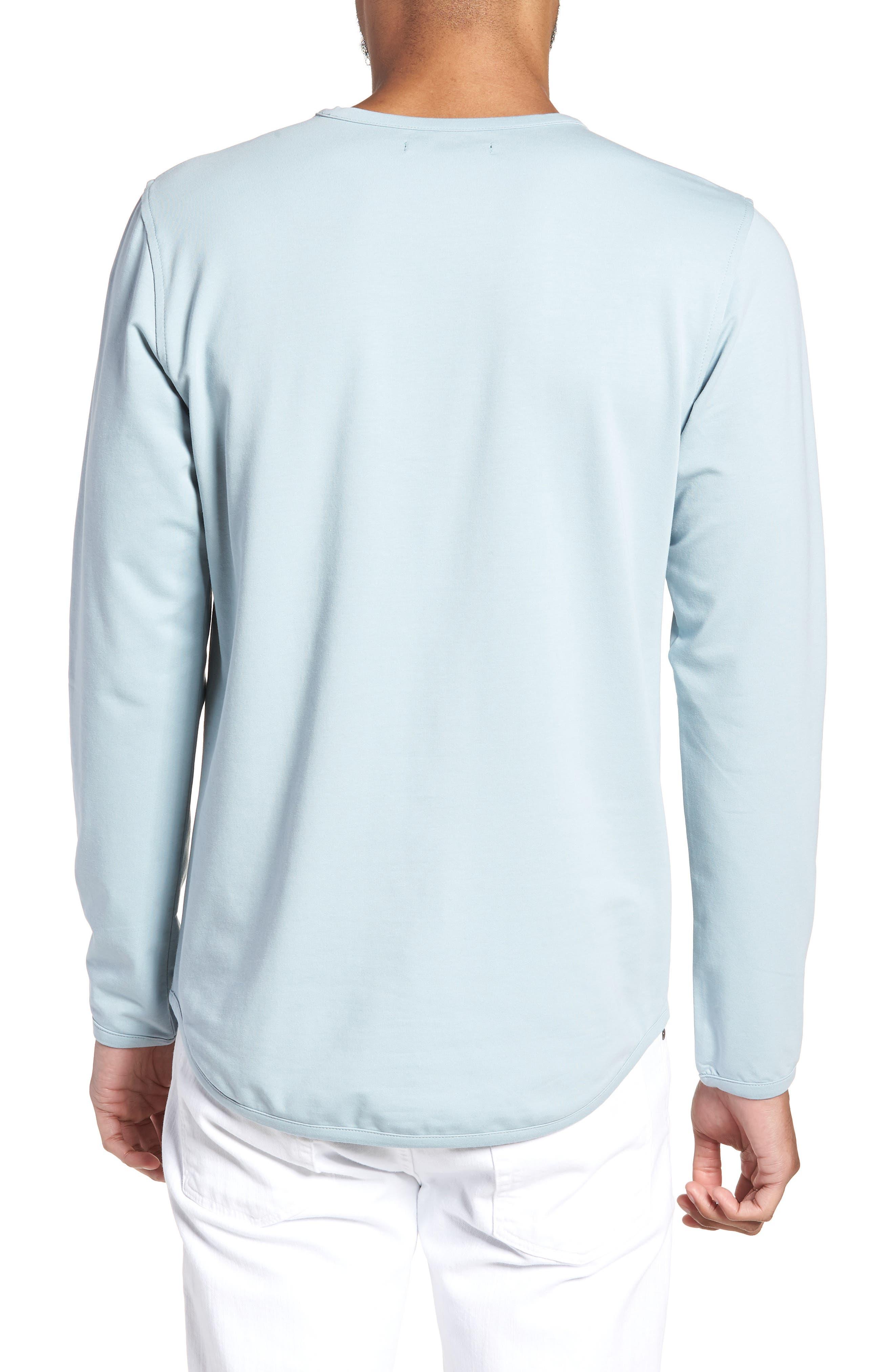 Trim Fit Long Sleeve T-Shirt,                             Alternate thumbnail 5, color,