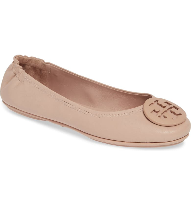 Online Purchase Tory Burch Minnie Travel Ballet Flat (Women) Price comparison