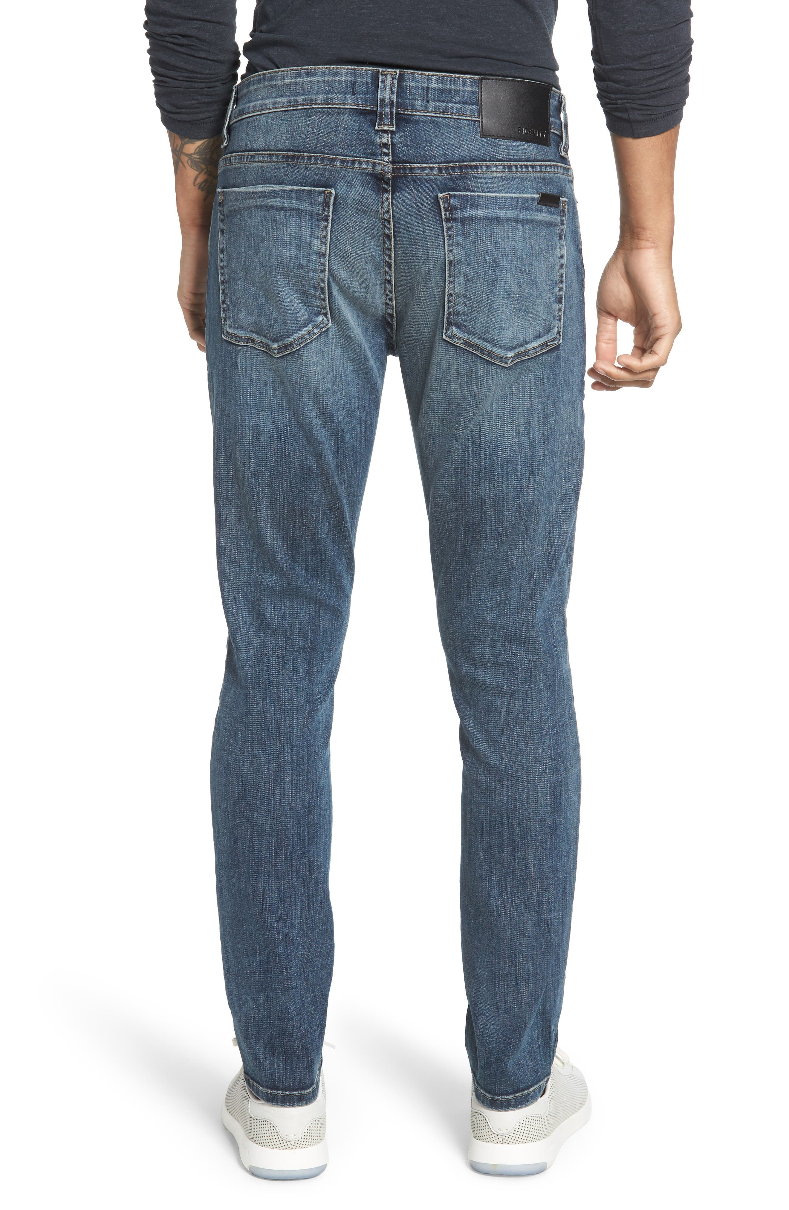 Jimmy Slim Straight Leg Jeans,                             Alternate thumbnail 2, color,                             CATHEDRAL