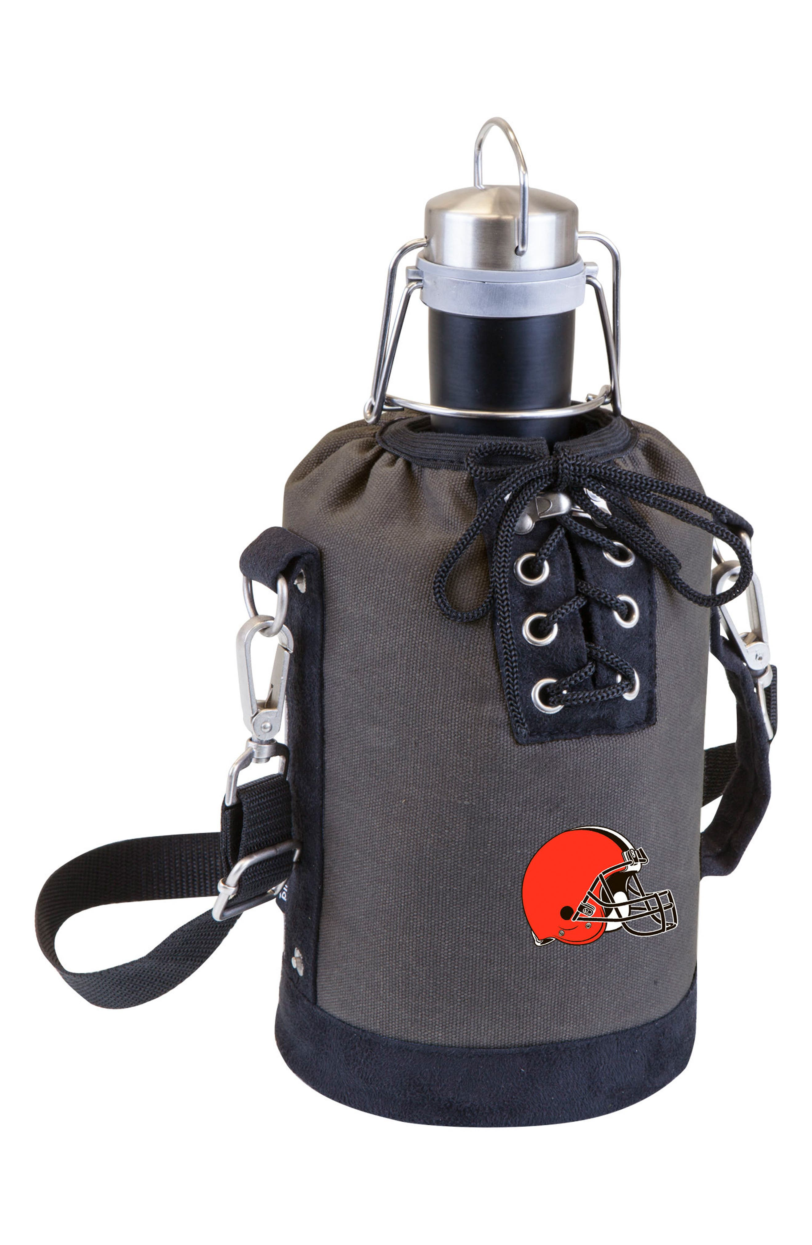 NFL Team Logo Tote & Stainless Steel Growler,                             Main thumbnail 8, color,