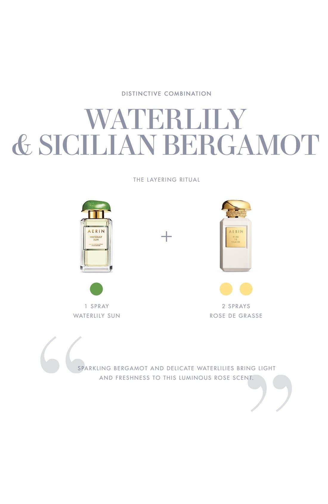 ESTÉE LAUDER,                             AERIN Beauty Waterlily Sun Eau de Parfum,                             Alternate thumbnail 2, color,                             NO COLOR
