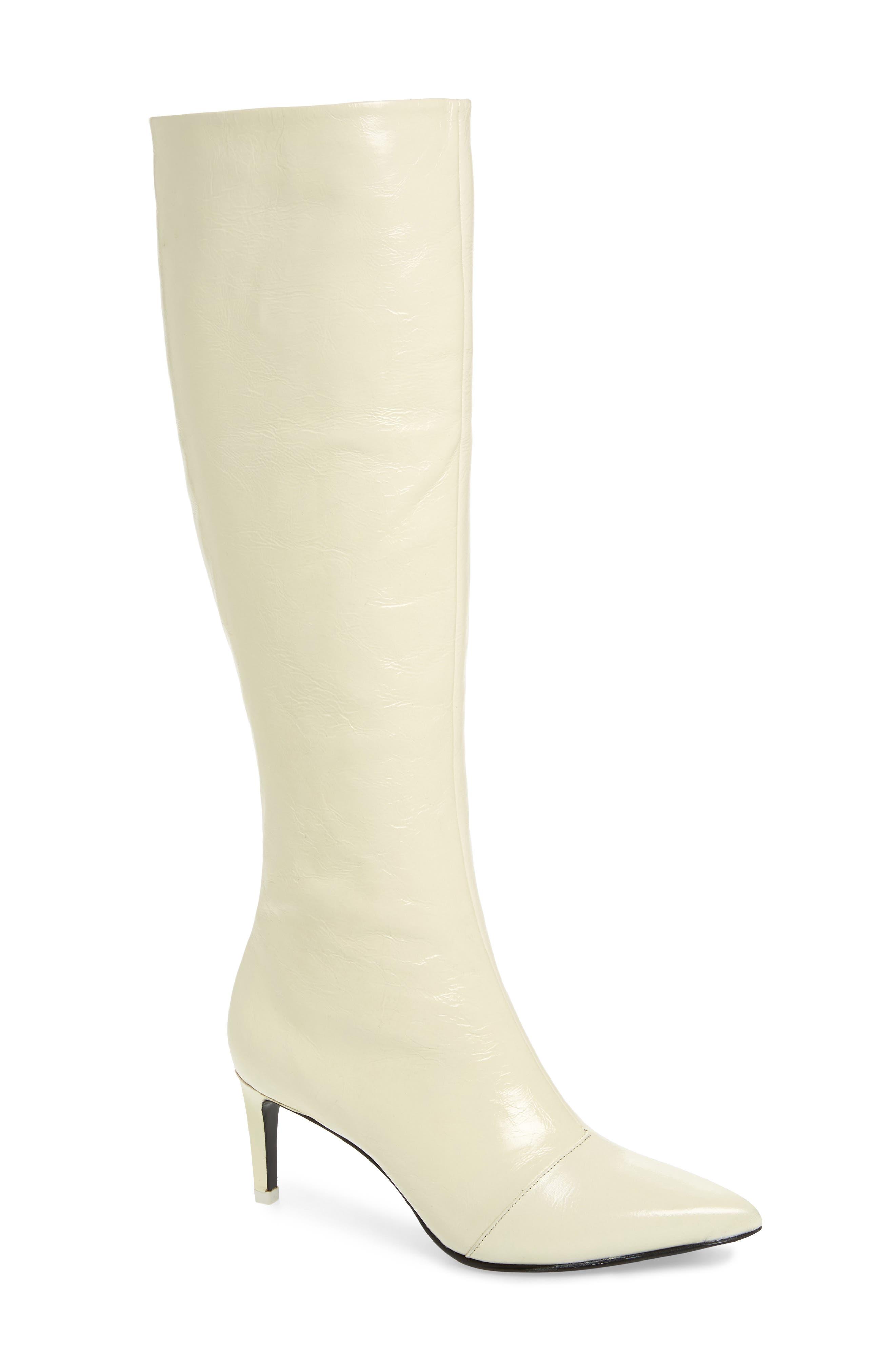 Rag & Bone Beha Knee High Boot, White