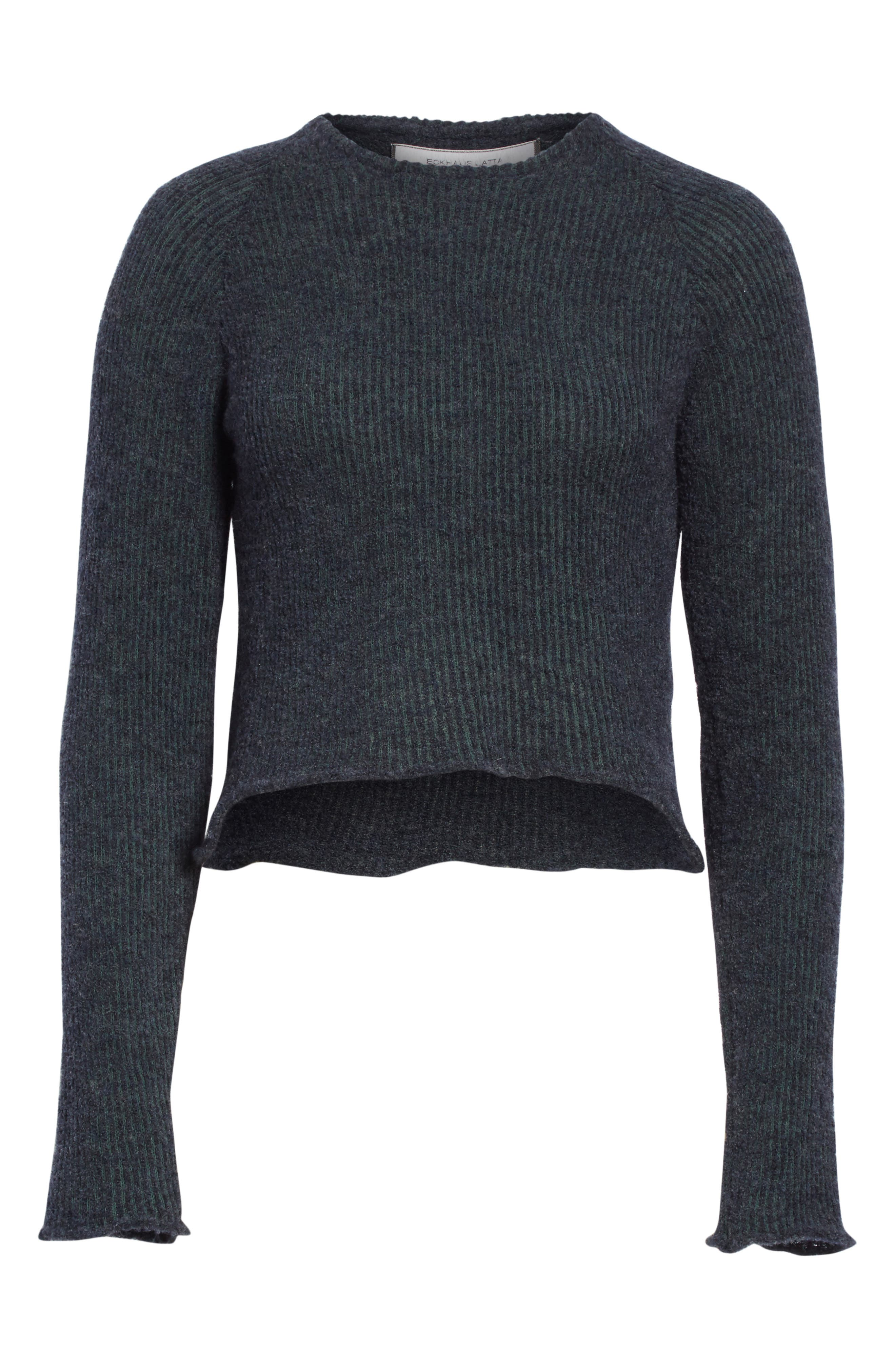 Raglan Pullover Sweater,                             Alternate thumbnail 6, color,                             NAVY