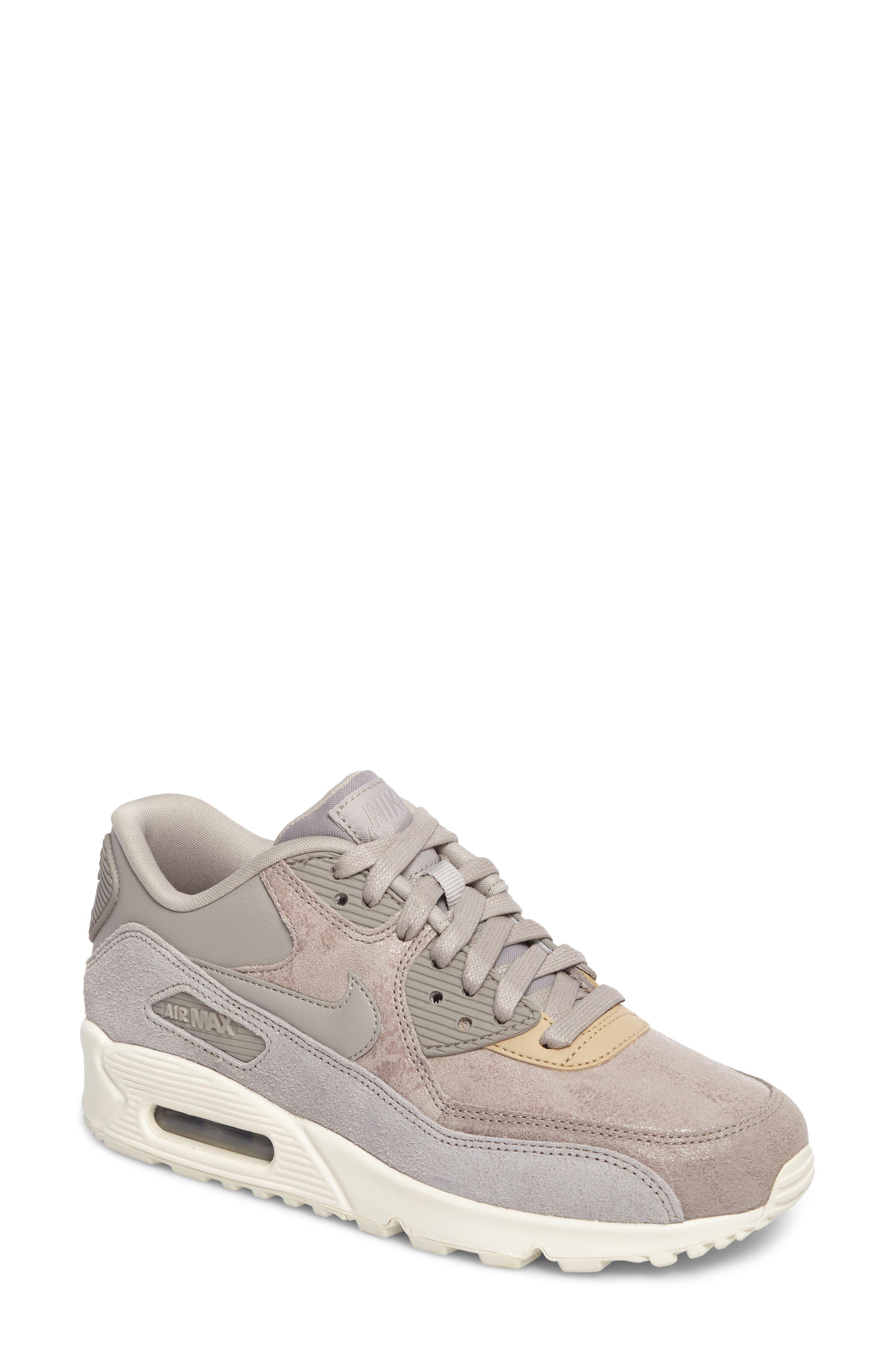 Air Max 90 Premium Sneaker,                             Main thumbnail 1, color,                             020