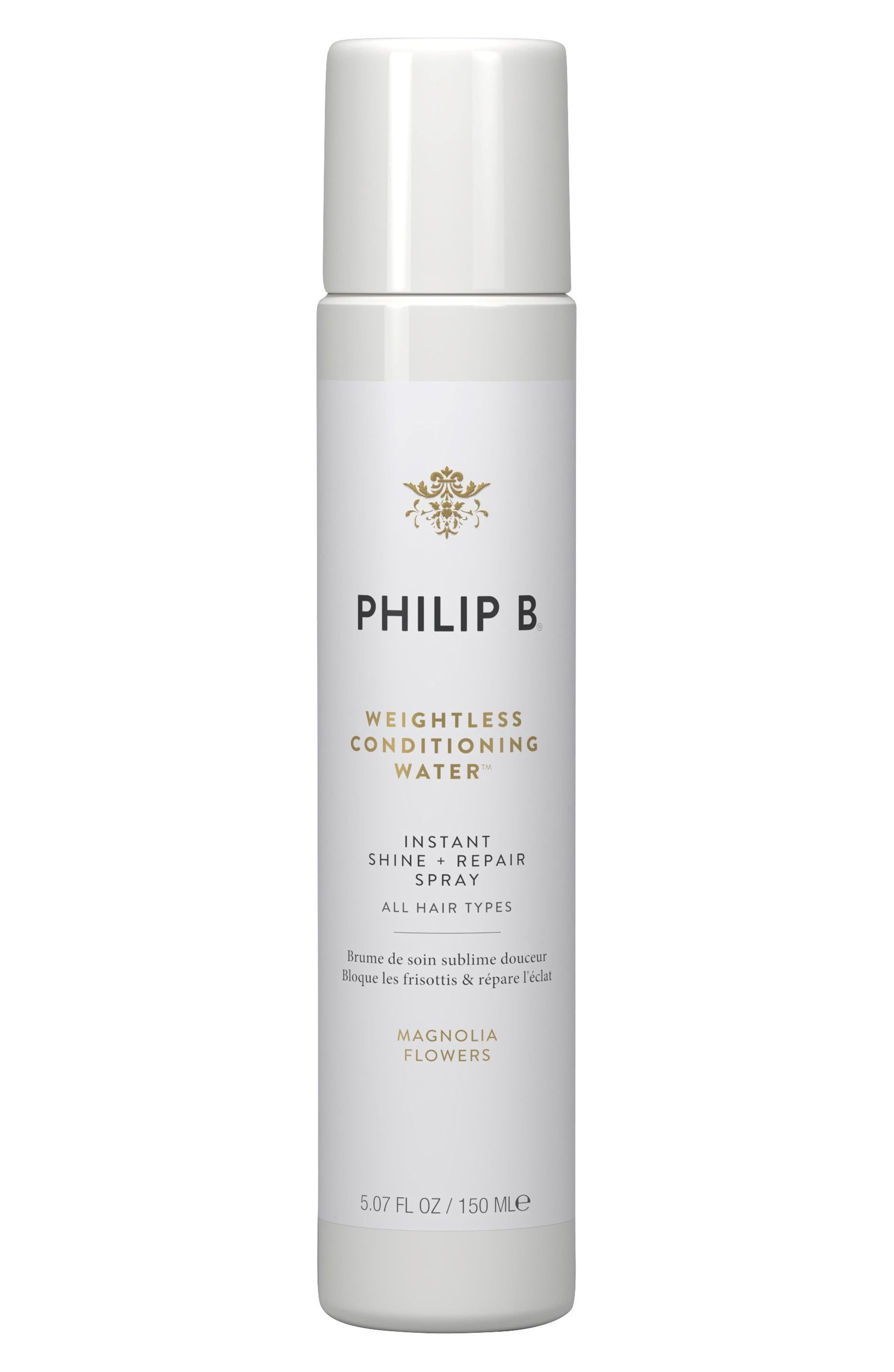 SPACE.NK.apothecary PHILIP B Weightless Conditioning Water,                             Main thumbnail 1, color,                             NO COLOR