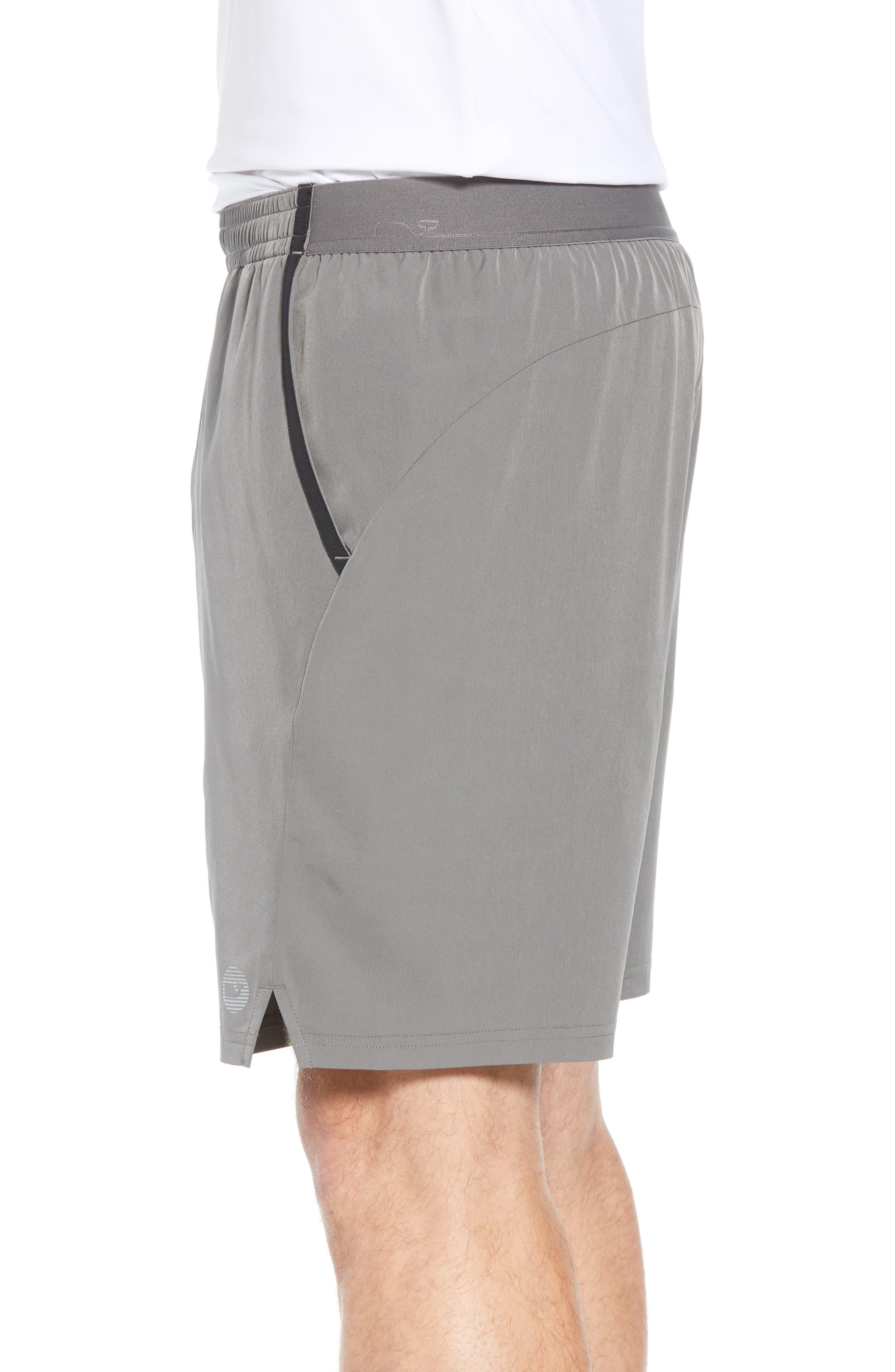 Active Tennis Shorts,                             Alternate thumbnail 3, color,                             GRAPHITE