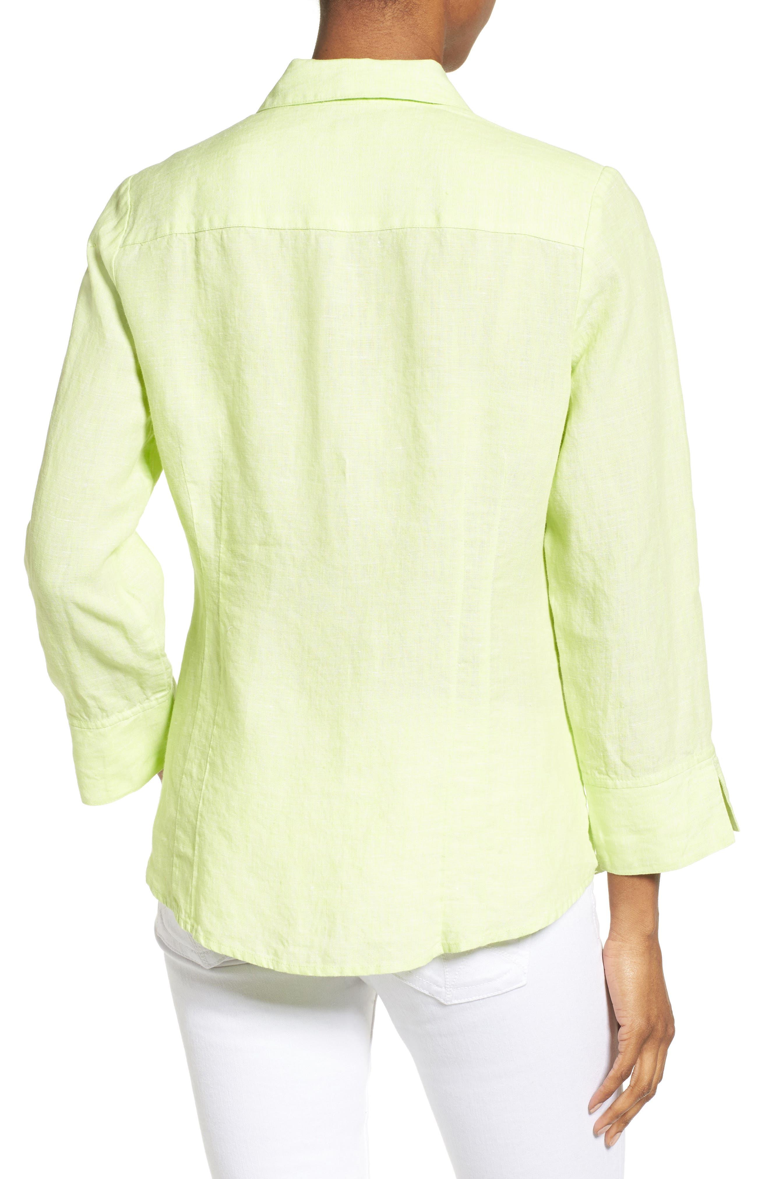 Linen Chambray Shirt,                             Alternate thumbnail 12, color,