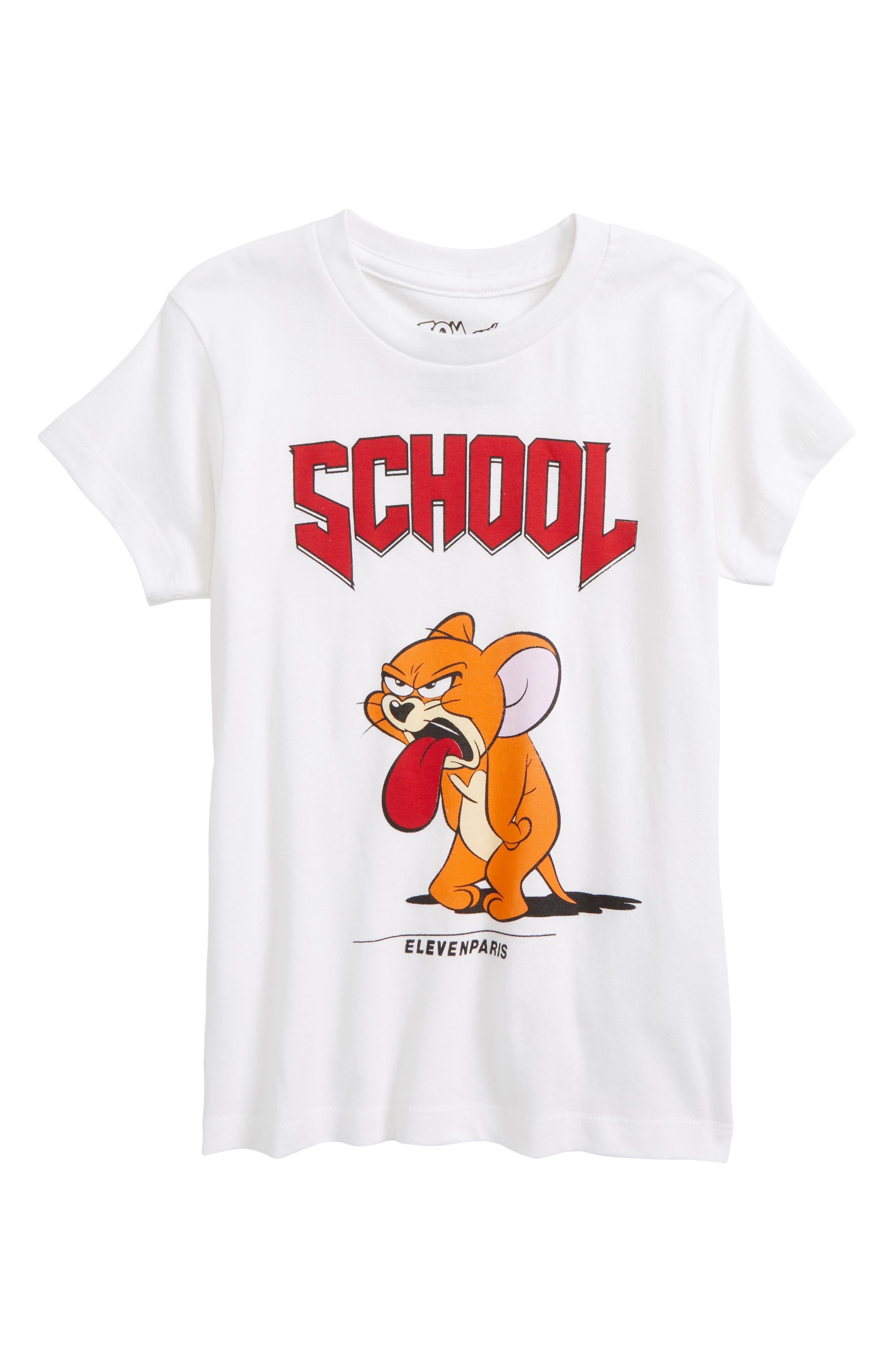 LITTLE ELEVENPARIS Moljer T-Shirt, Main, color, 100