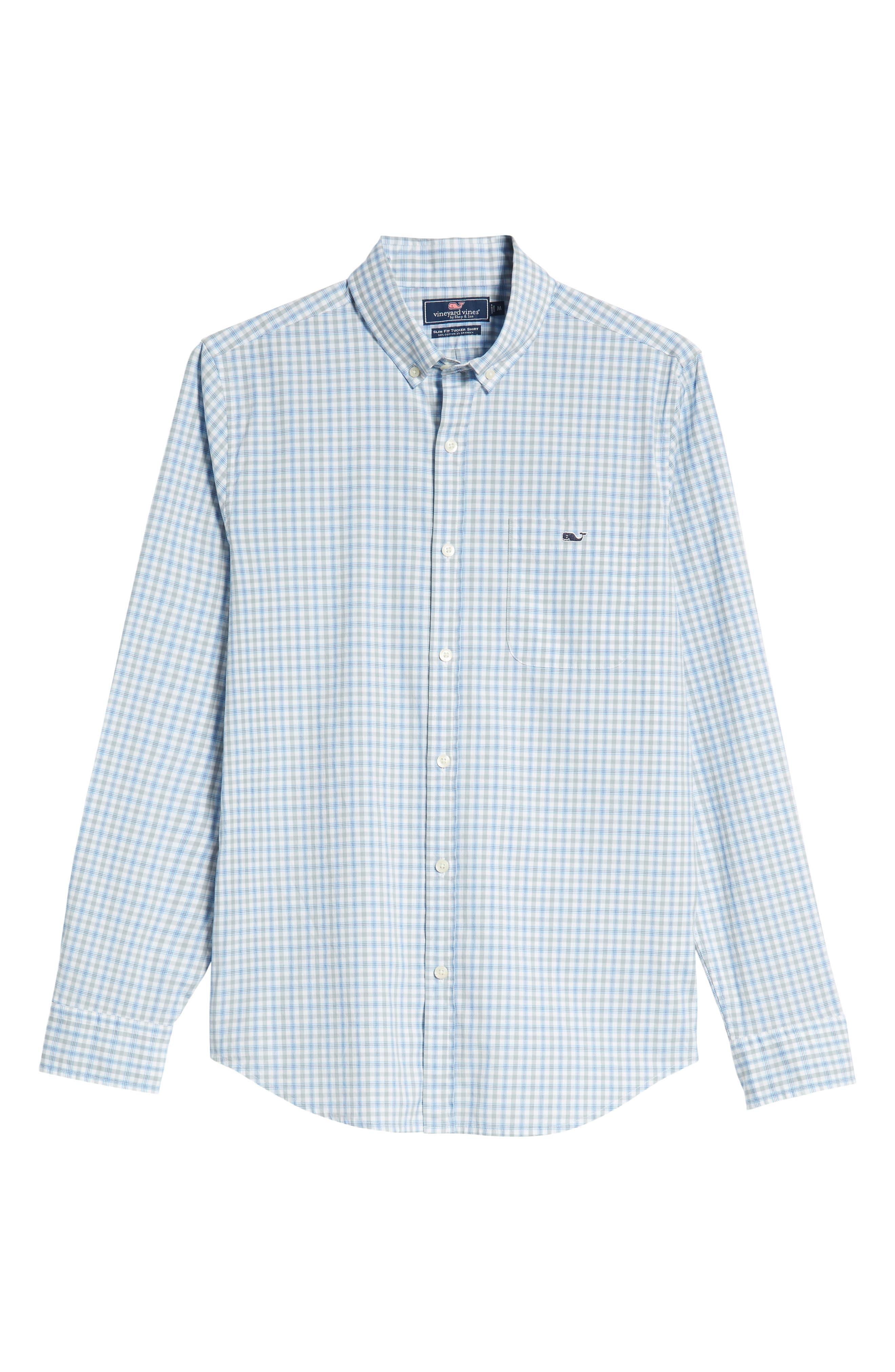 VINEYARD VINES,                             Murray Slim Fit Sport Shirt,                             Alternate thumbnail 5, color,                             034