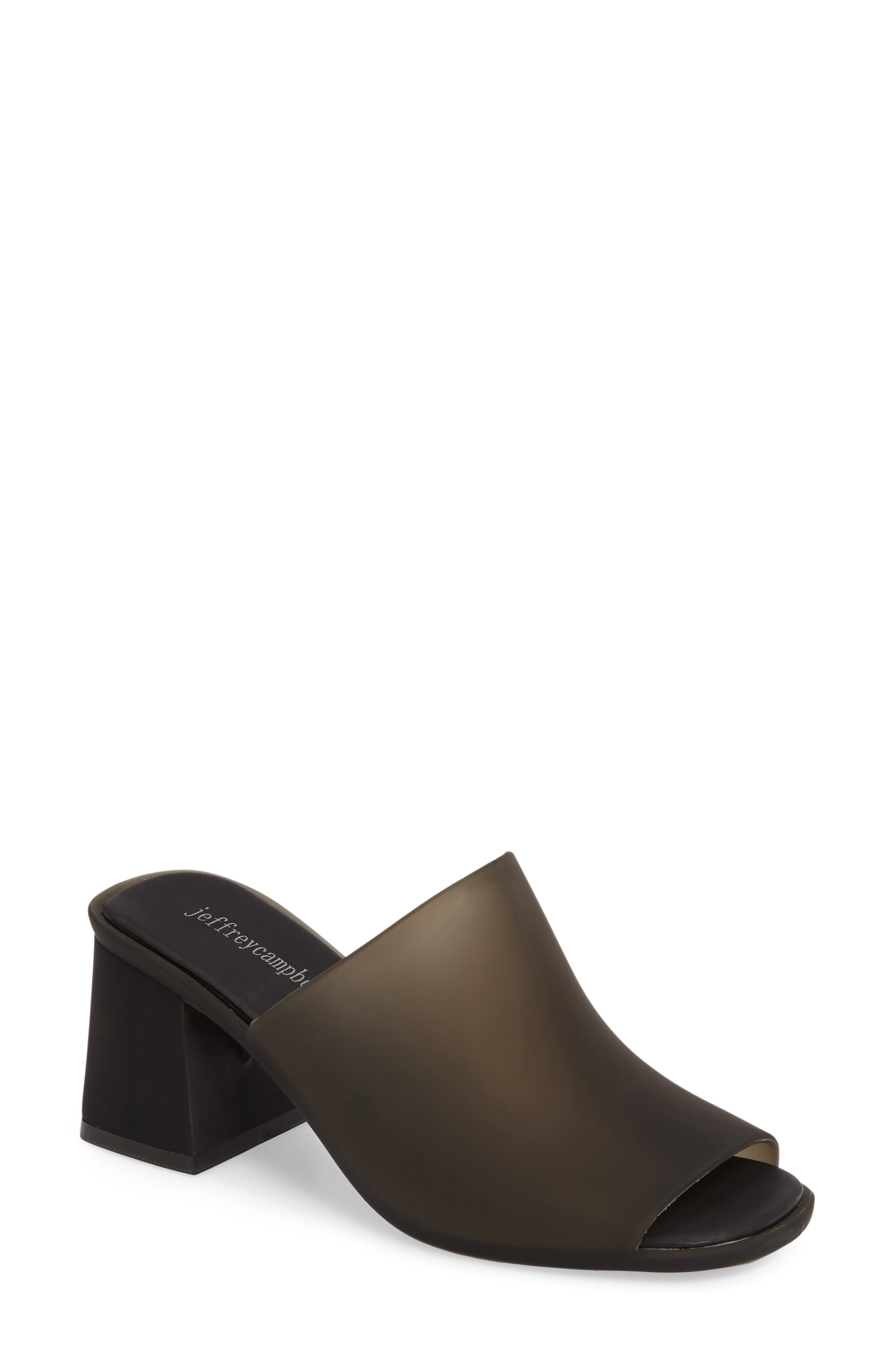 Jelly Slide Sandal,                             Main thumbnail 1, color,                             001