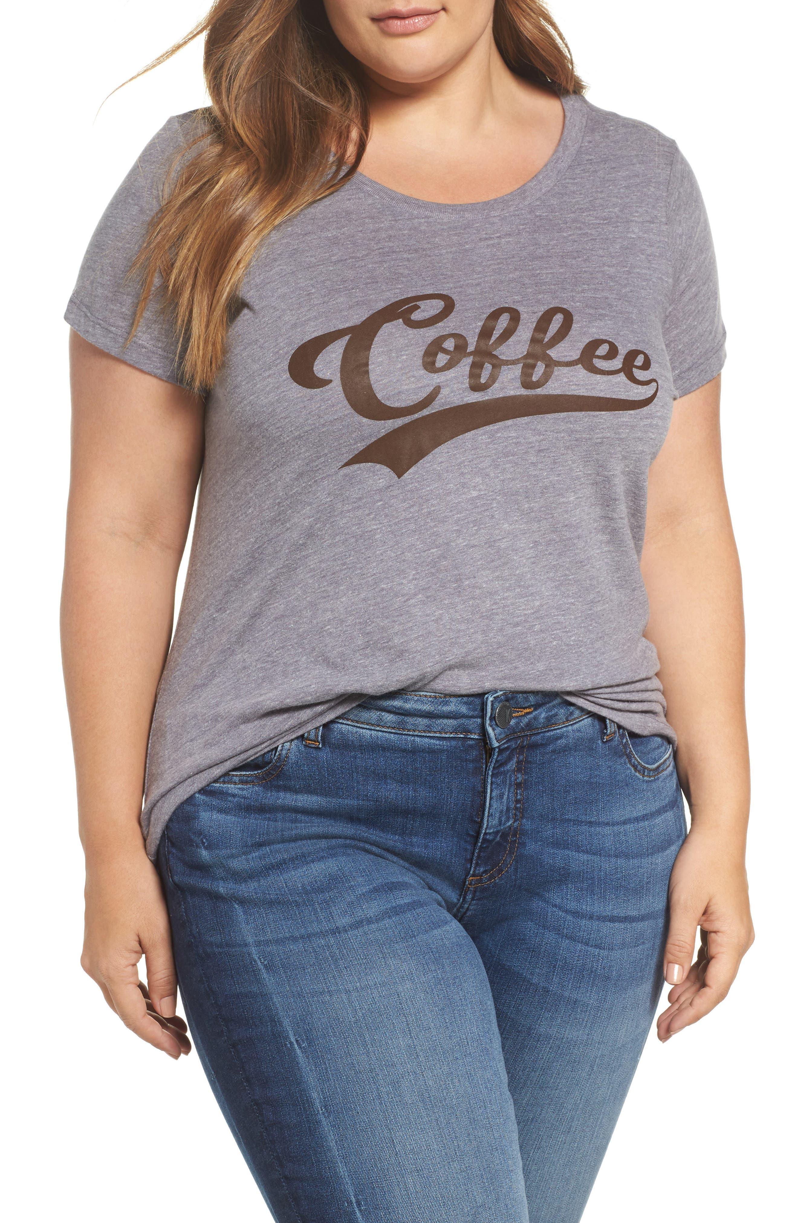 Coffee Graphic Tee,                         Main,                         color, 050