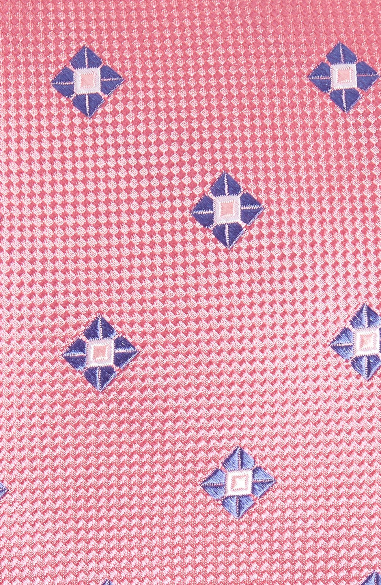 Oxford Medallion Silk Tie,                             Alternate thumbnail 10, color,
