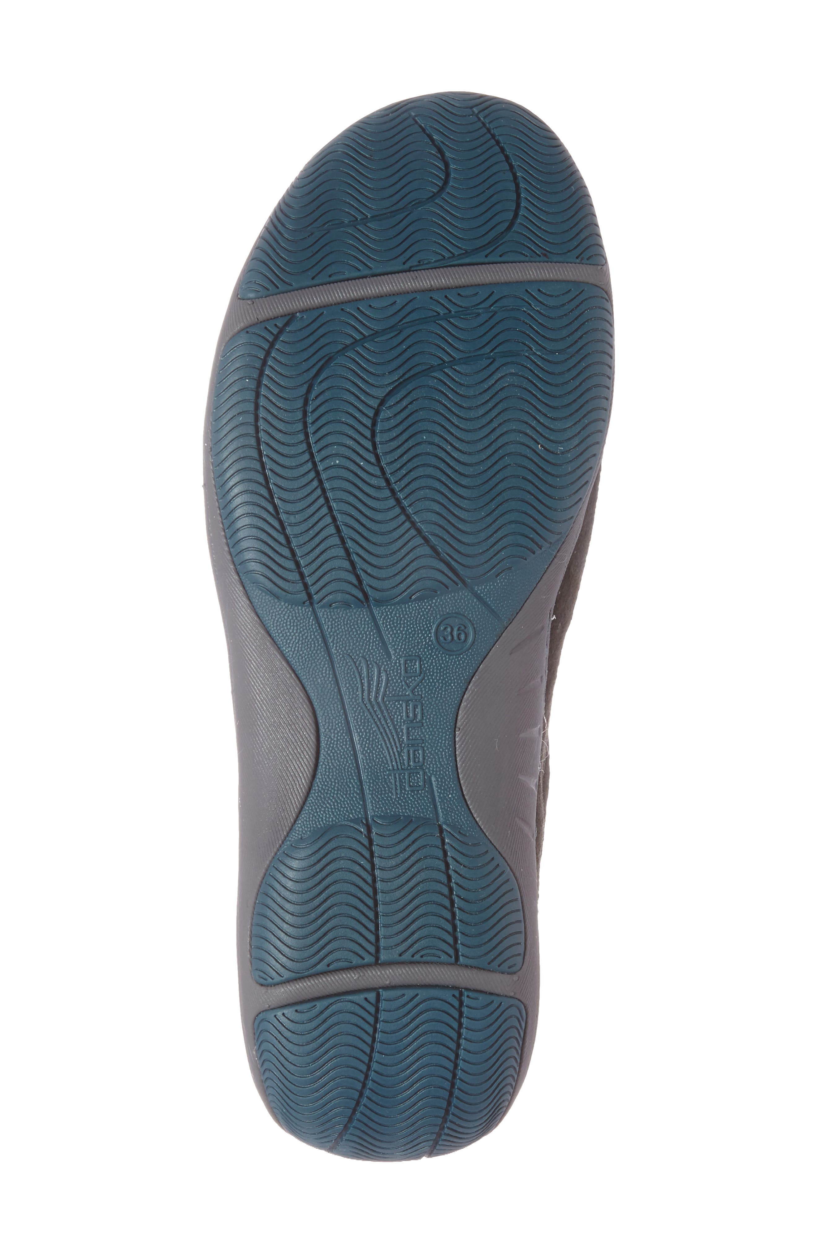 'Helen' Suede & Mesh Sneaker,                             Alternate thumbnail 18, color,