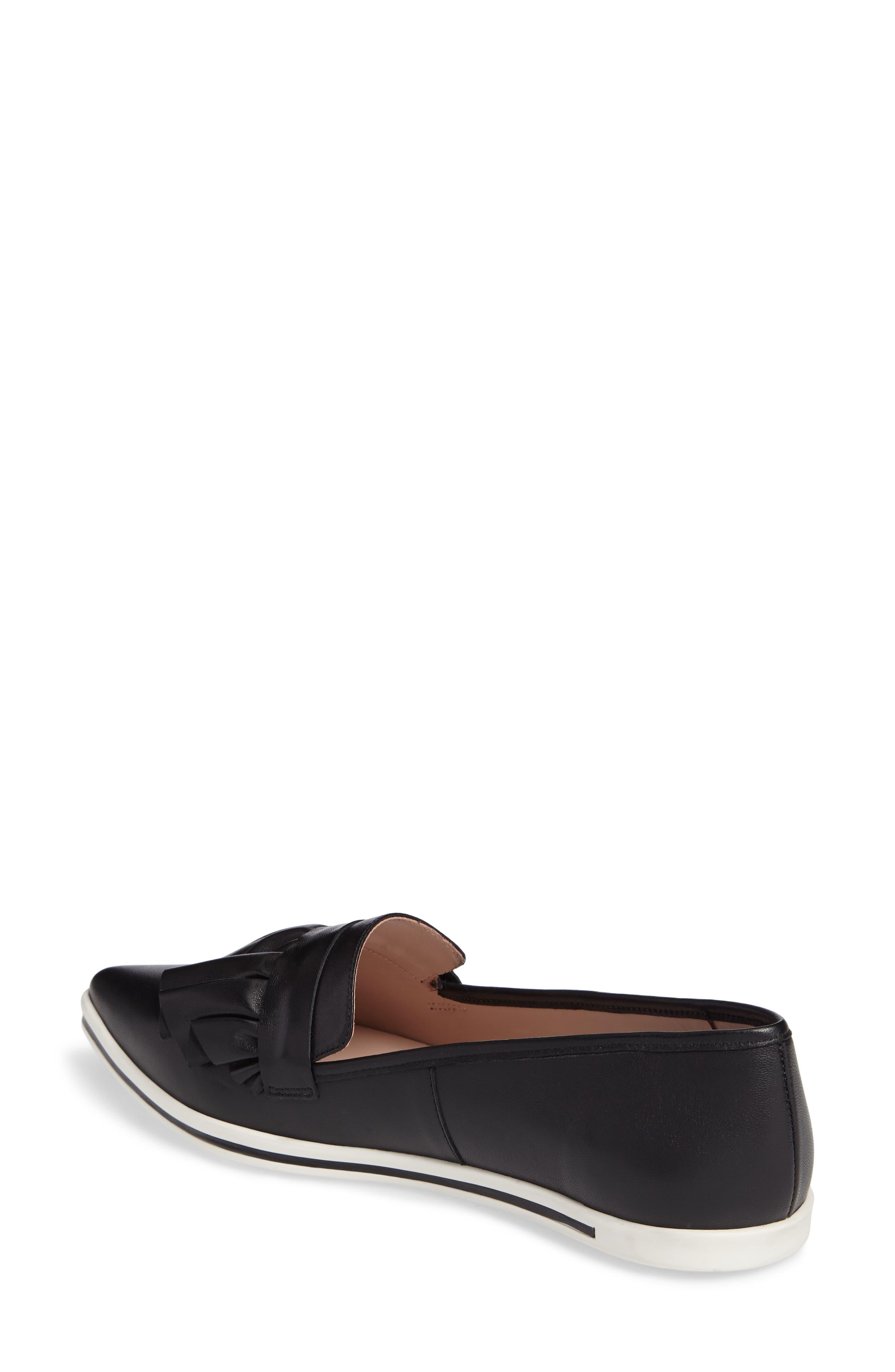 Taraji Ruffle Slip-On Sneaker,                             Alternate thumbnail 5, color,