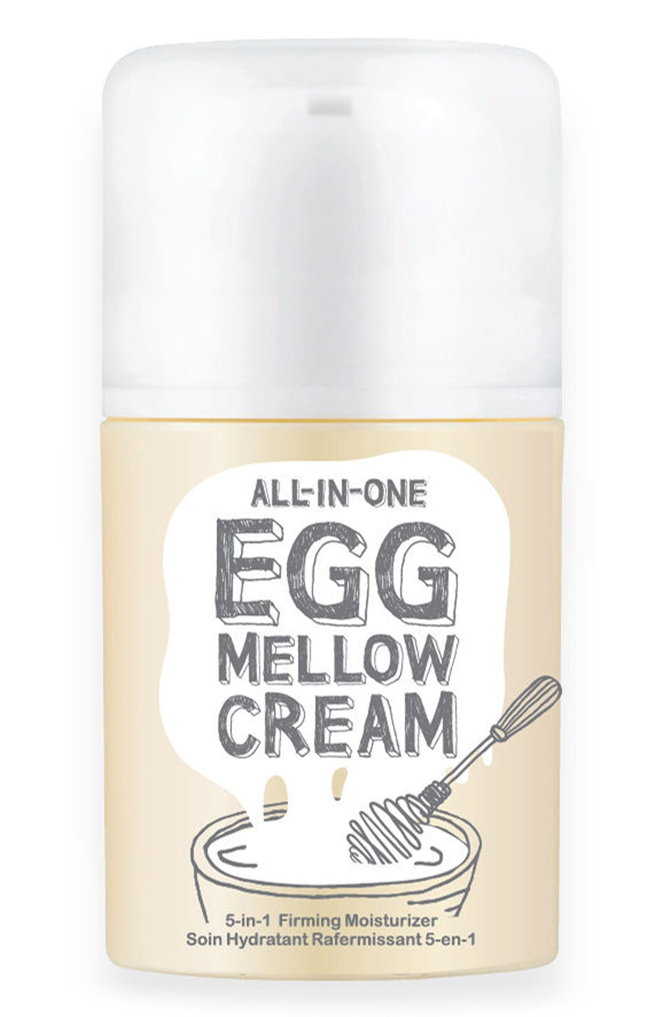 TOO COOL FOR SCHOOL Egg Mellow Cream, Main, color, NONE