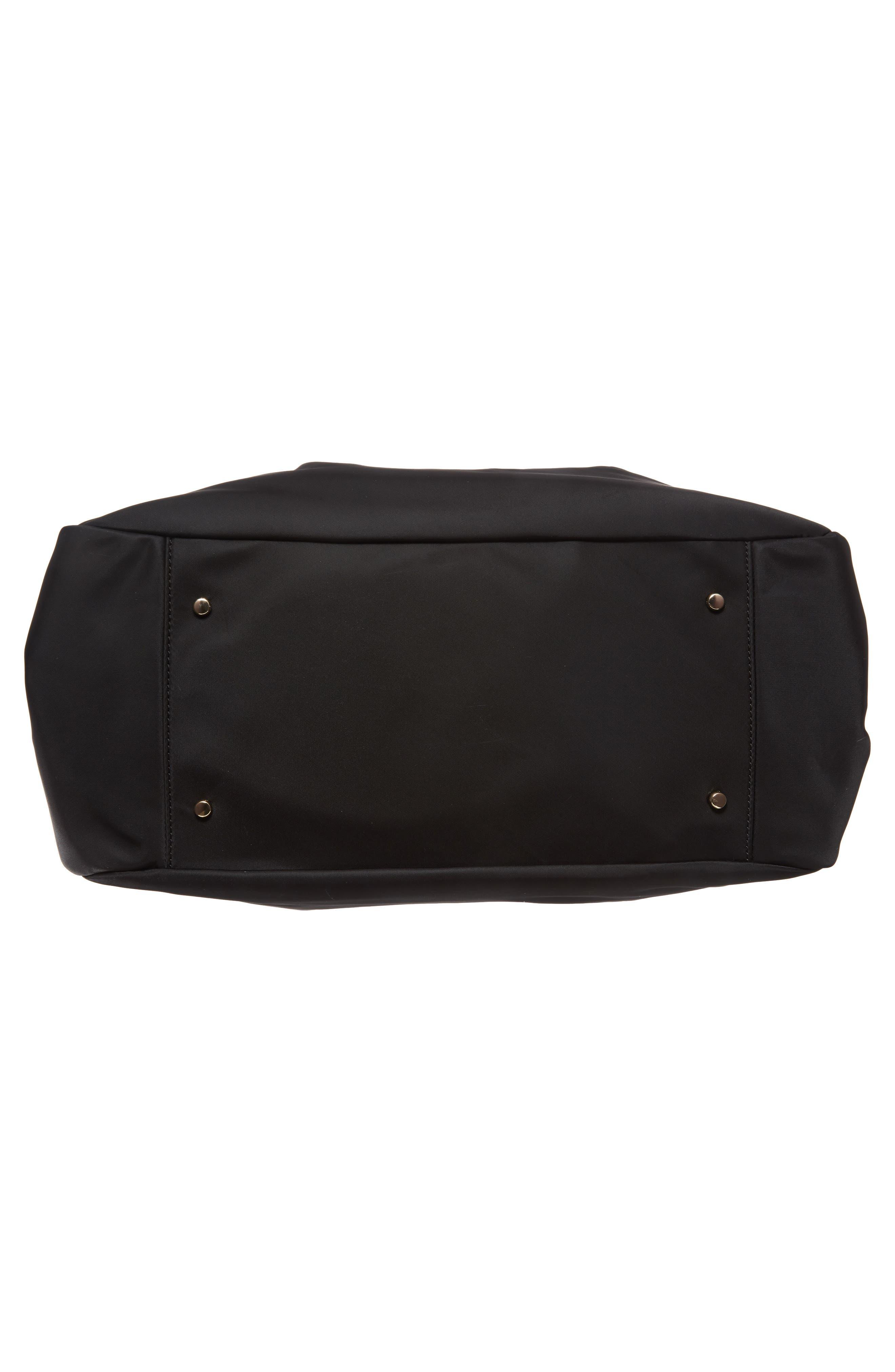 watson lane - stevie diaper bag,                             Alternate thumbnail 6, color,                             BLACK