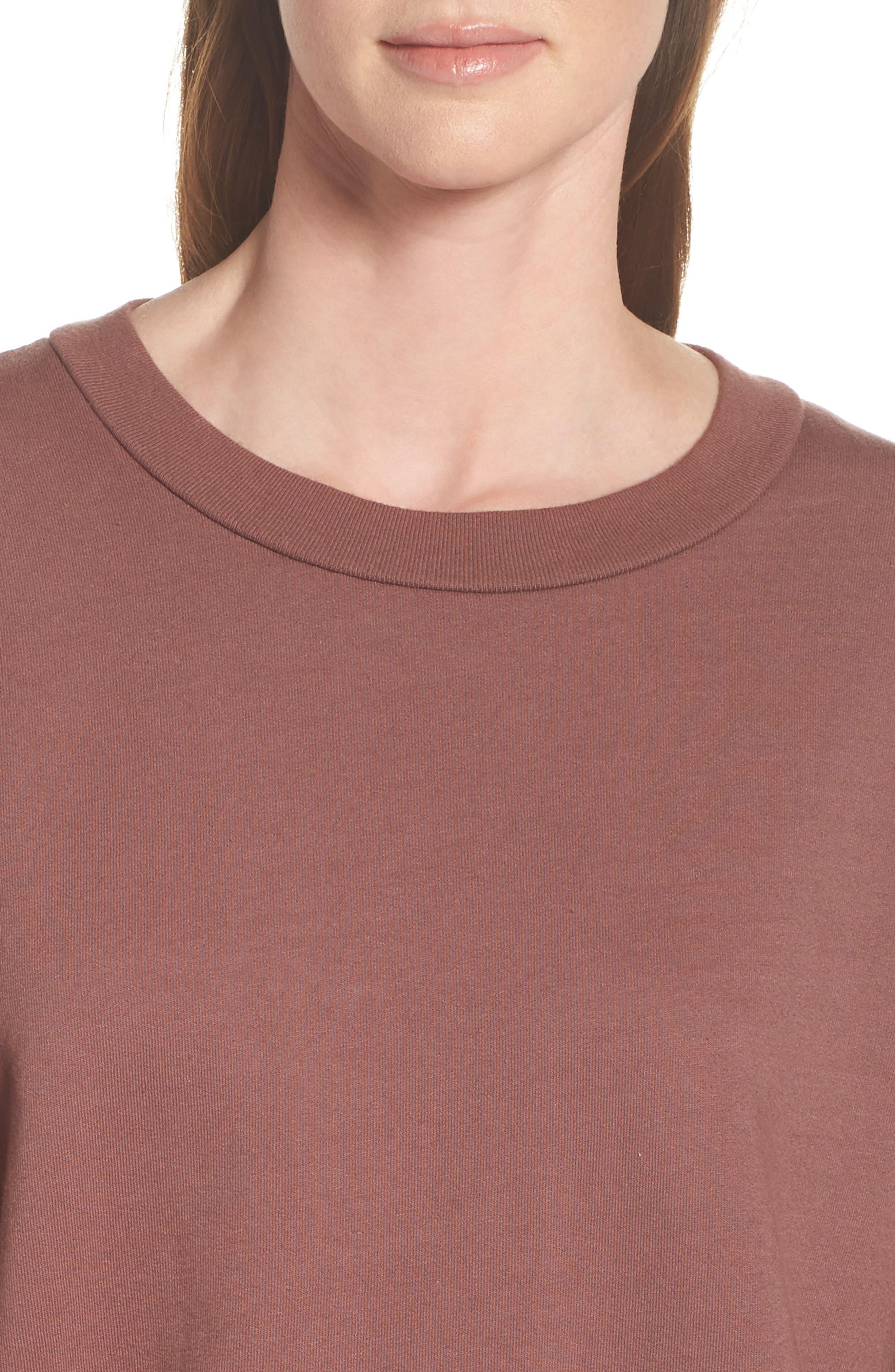 Ellstan Oversize Boyfriend Sweatshirt,                             Alternate thumbnail 8, color,